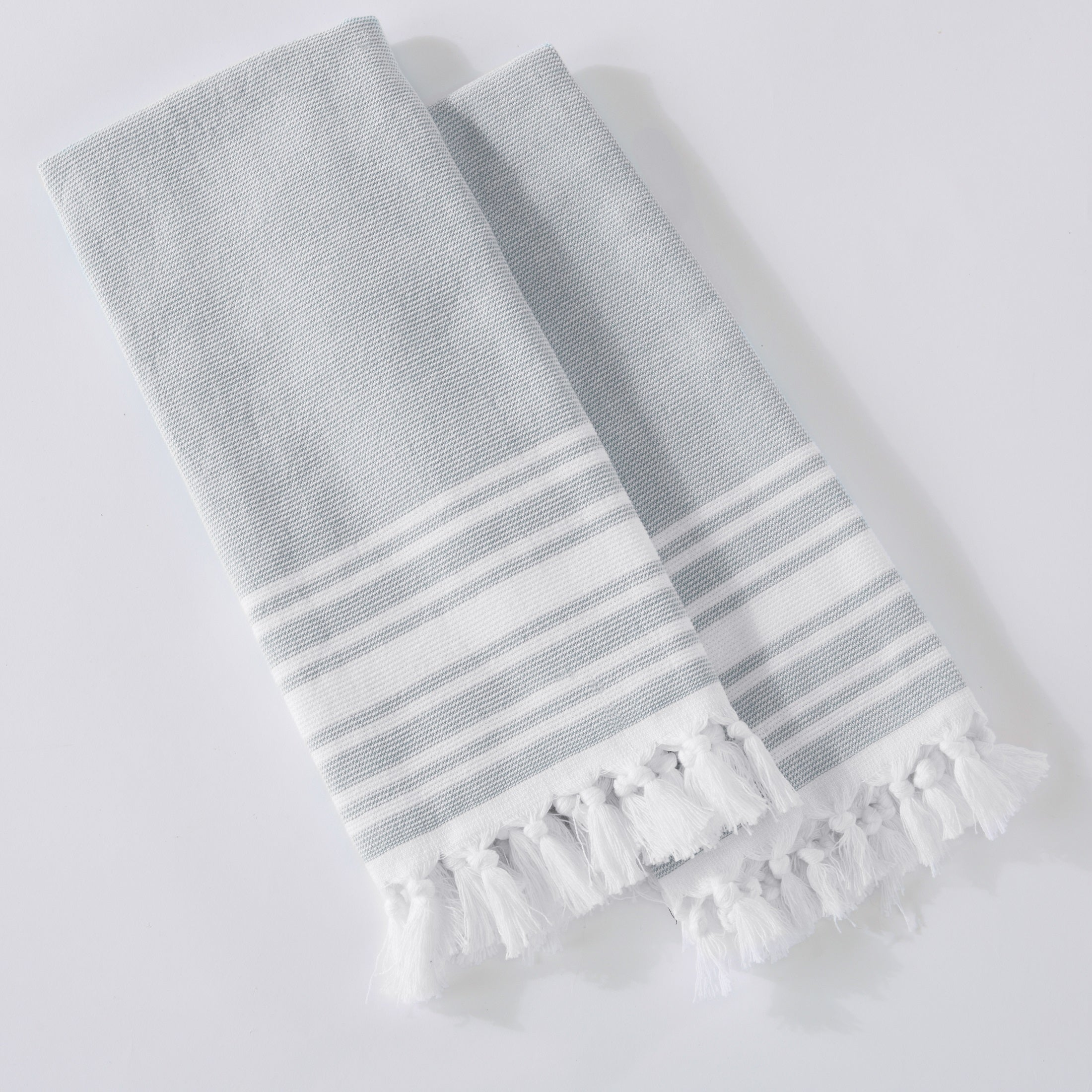 Bon Shop Home Fashion Designs Natasha Collection 4 Piece 100% Cotton Kitchen  Towel Set With Fouta Design   Free Shipping On Orders Over $45    Overstock.com   ...