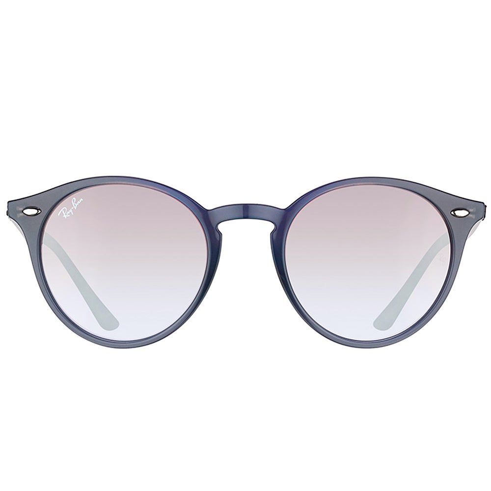 0860330708 Shop Ray-Ban RB 2180 623094 Opal Grey Plastic Round Sunglasses Brown Silver  Mirror Lens - On Sale - Free Shipping Today - Overstock - 16563173