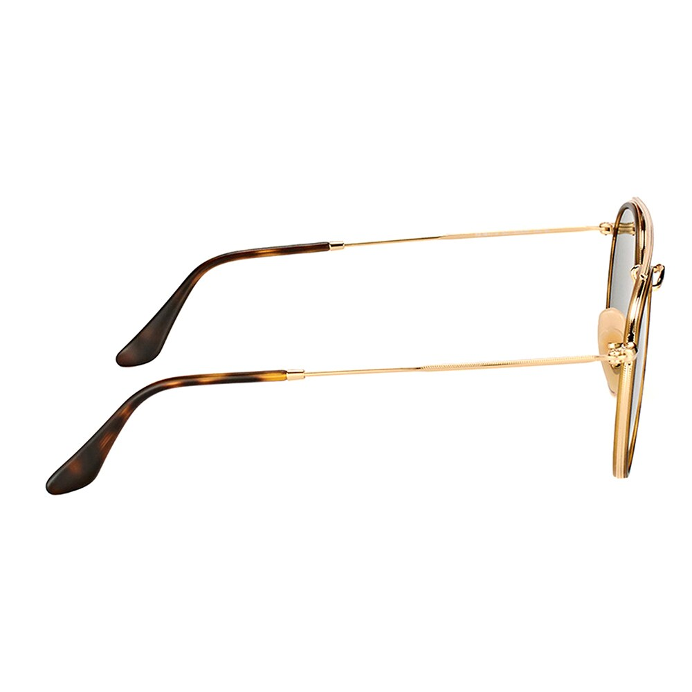 831cf96e10 Shop Ray-Ban RB 3647N 001 Round Double Bridge Gold Havana Metal Round  Sunglasses Green Lens - On Sale - Free Shipping Today - Overstock - 16563187