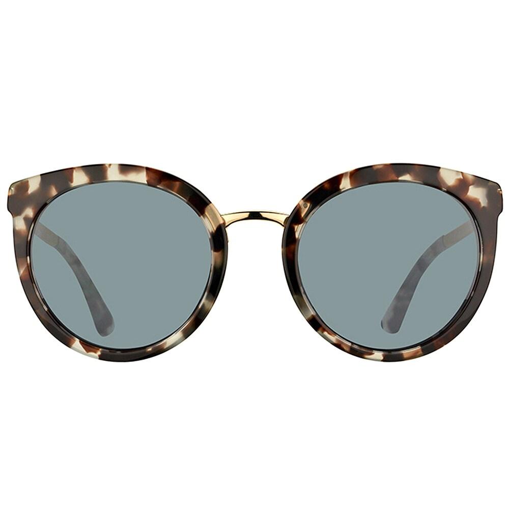 7ba8059b0d Shop Dolce   Gabbana DG 4268 28886G Cube Havana Fog Plastic Round Sunglasses  Silver Mirror Lens - Ships To Canada - Overstock.ca - 16563213