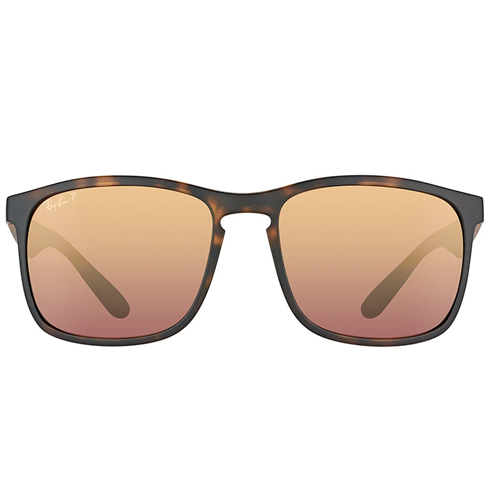 a4d8d8b67f8872 Shop Ray-Ban RB 4264 894 6B Matte Havana Plastic Square Sunglasses Brown  Flash Polarized Chromance Lens - Free Shipping Today - Overstock - 16563215