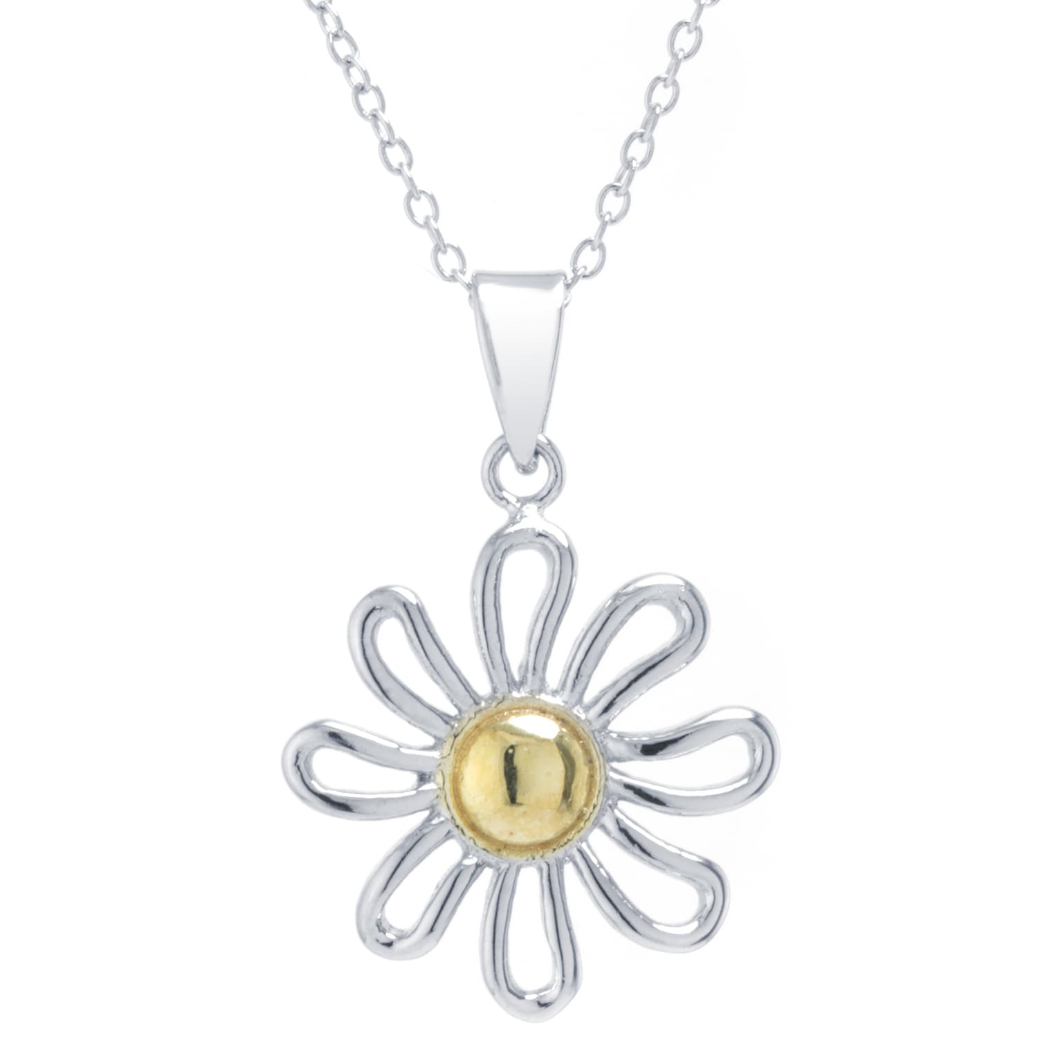 double daisy chain pendant products braithwaite copy ophelia jewellery