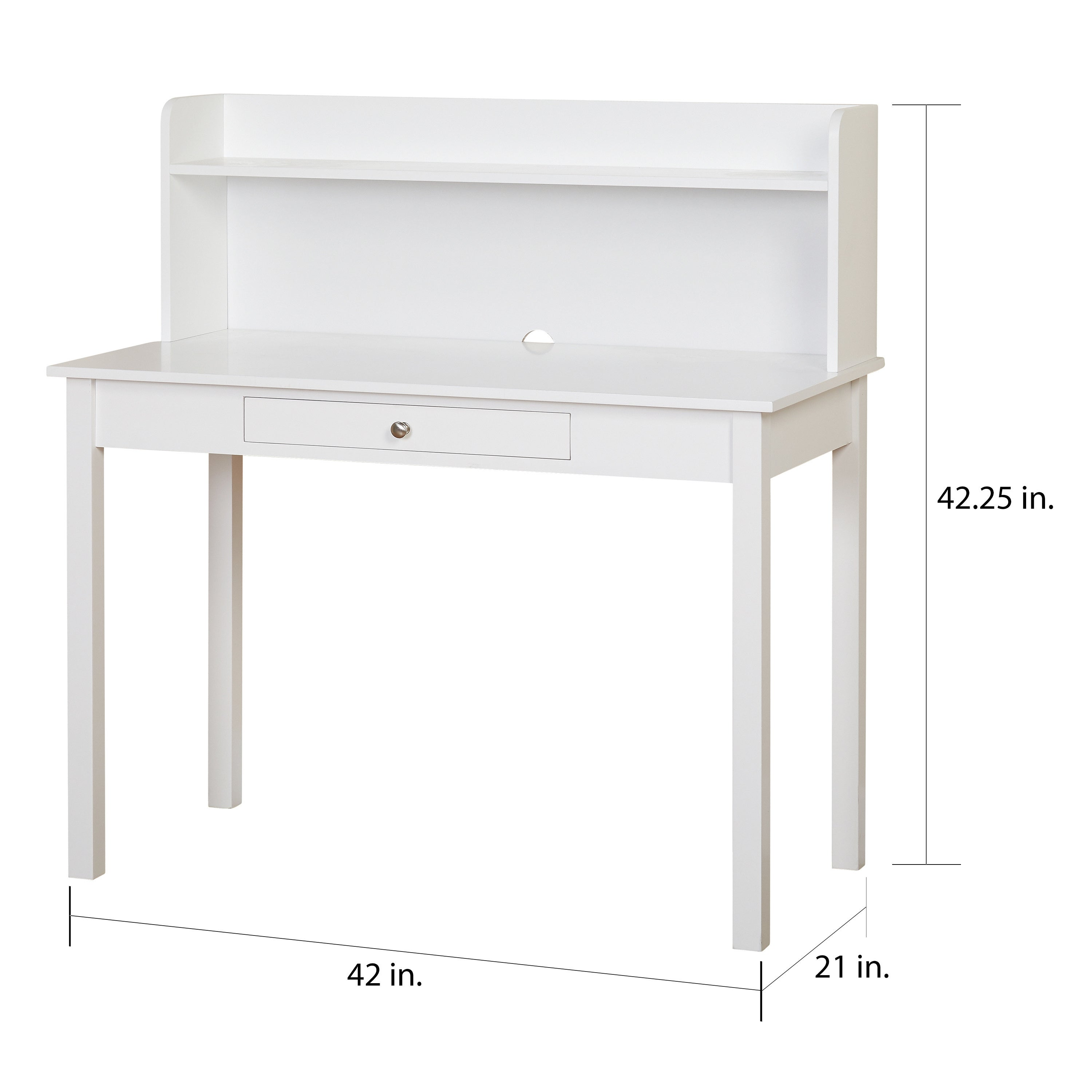 Shop Simple Living Foster Desk With Hutch  On Sale