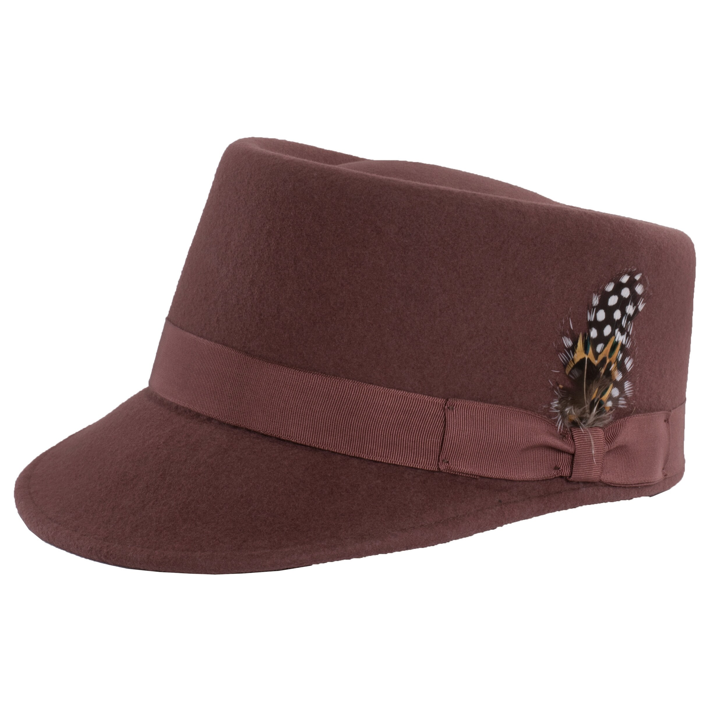 Shop Ferrecci Modern Conductor Train Engineer Hat with Feather - Free  Shipping On Orders Over  45 - Overstock - 16589228 edcfec893e5a