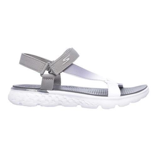 7e4378939708 ... Thumbnail Women  x27 s Skechers On the GO 400 Jazzy Sandal Light Gray   ...