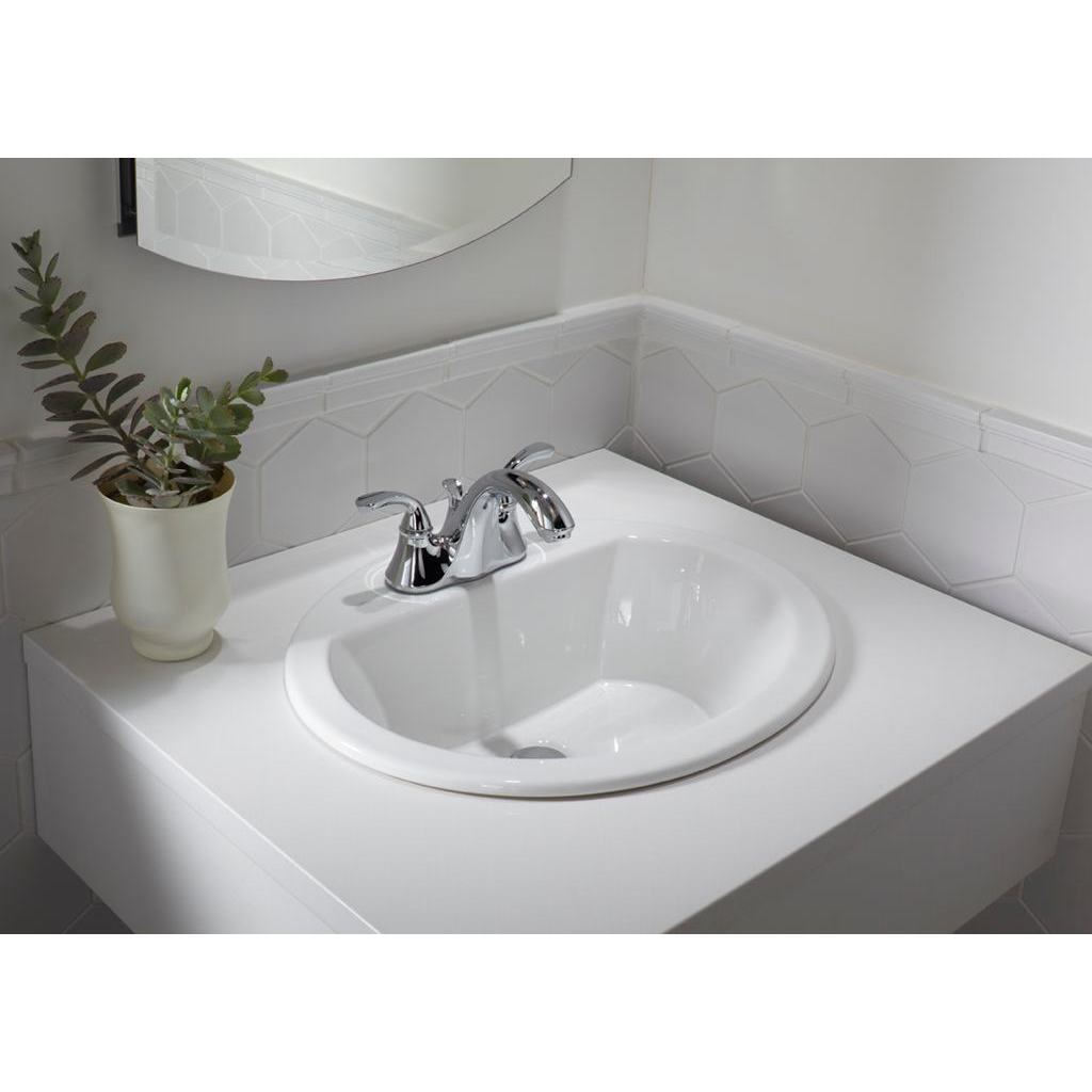 19 Inch European Style Oval Shape Porcelain Ceramic Bathroom Topmount Over The Counter Sink Overstock 16601533