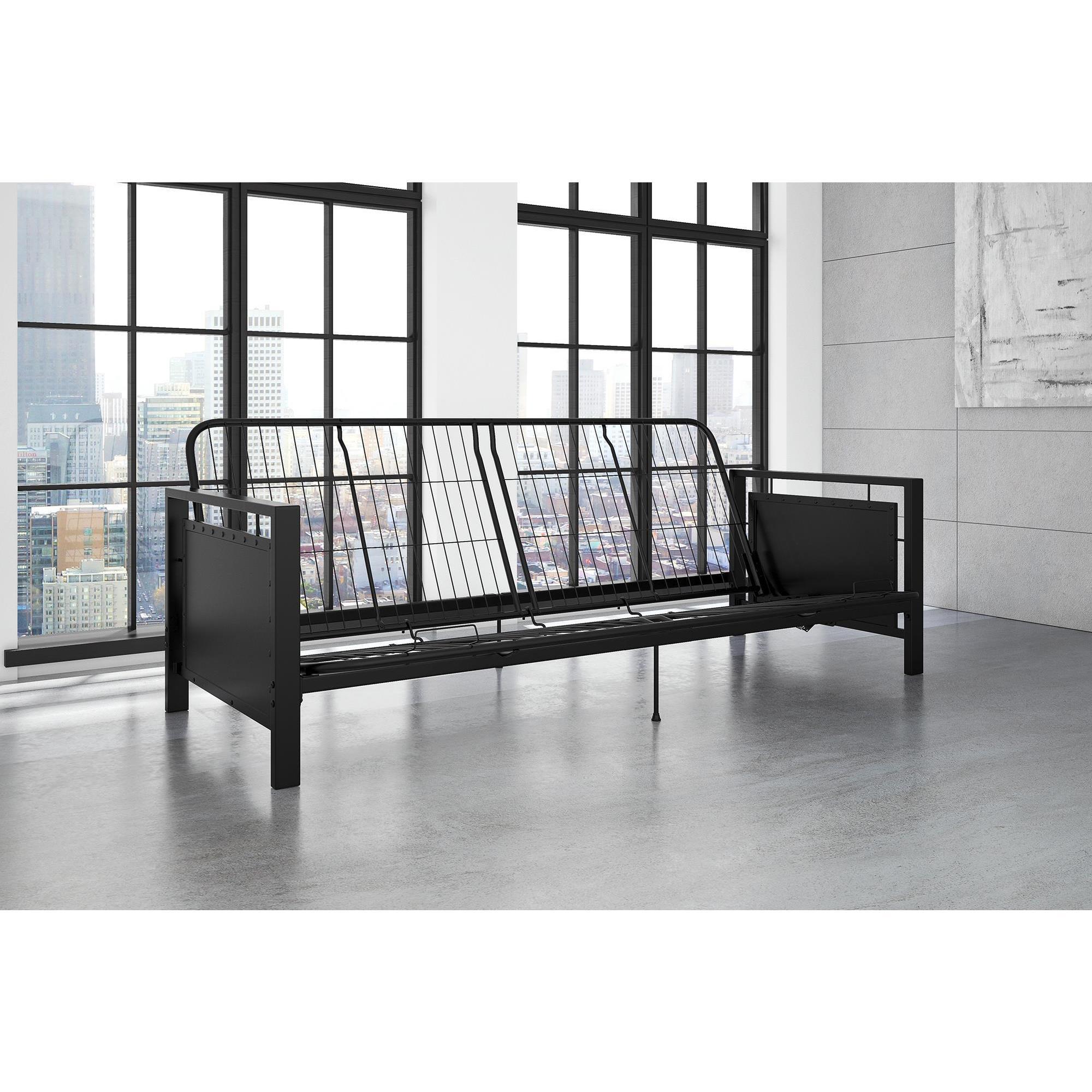 abbyson futon velvet product sofa home regina futons overstock base free today shipping bed garden