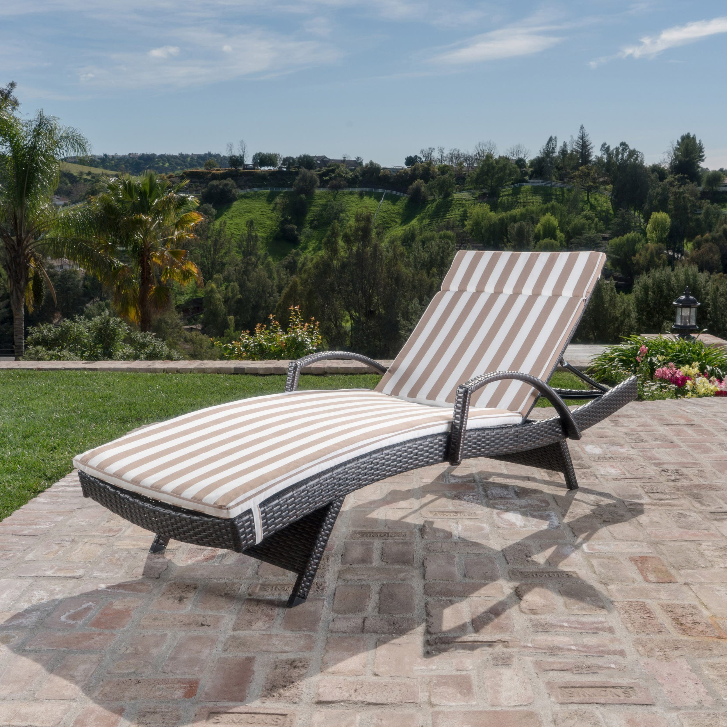 monterey casual reviews cambridge outdoor mattress teak cushion pdx chaise with lounge wayfair
