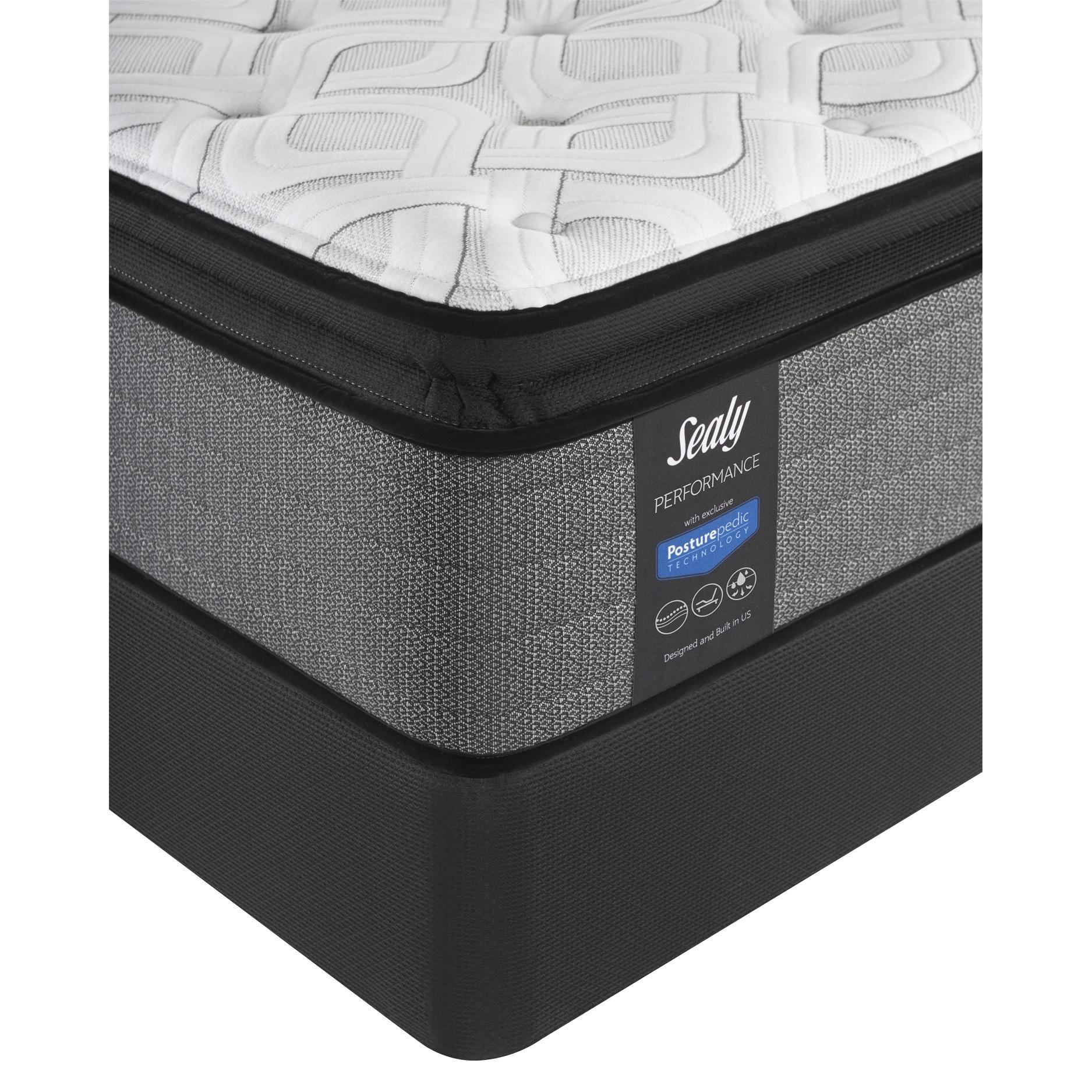sealy response performance 14 inch plush euro pillow top california