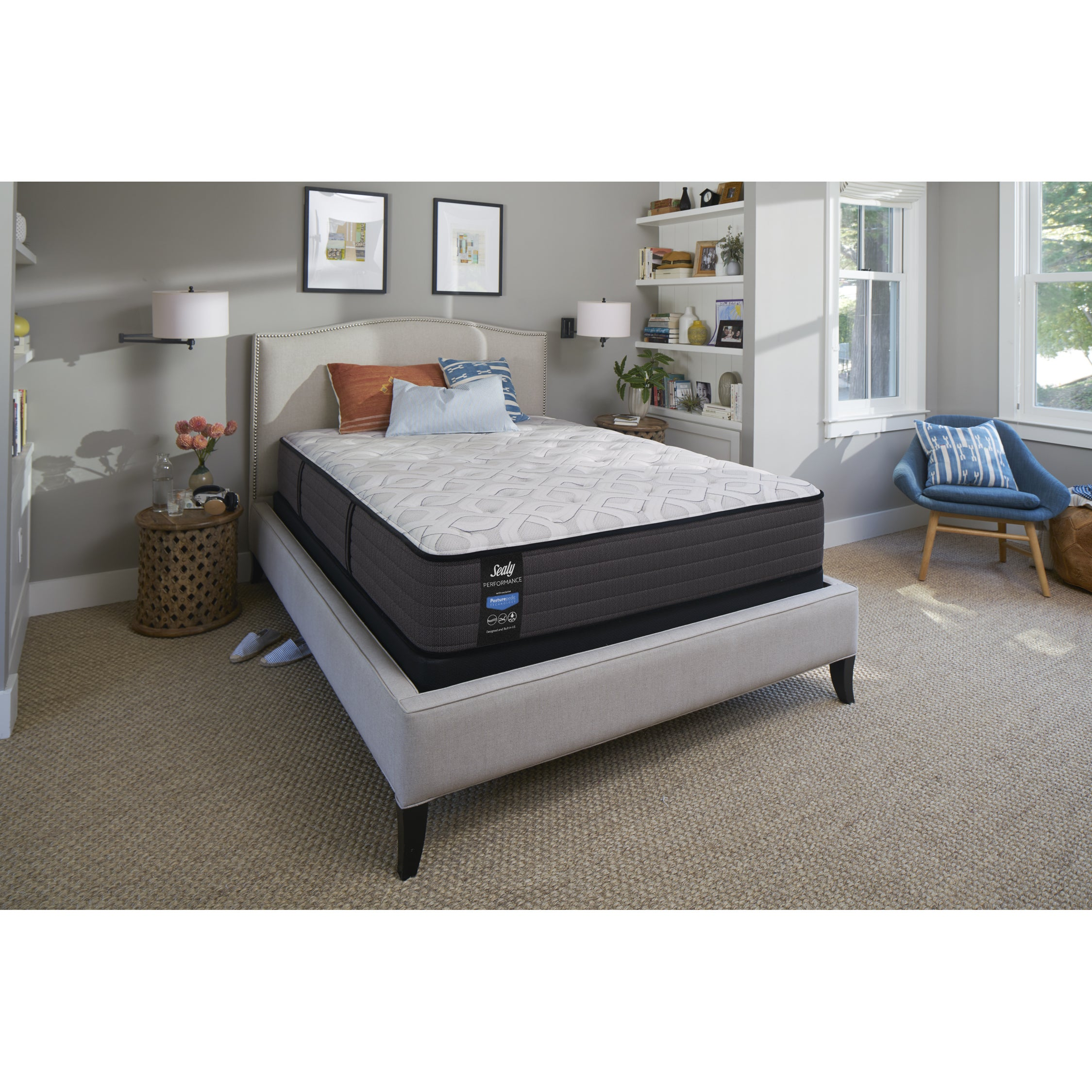 sealy response performance 11 inch cushion firm california king size
