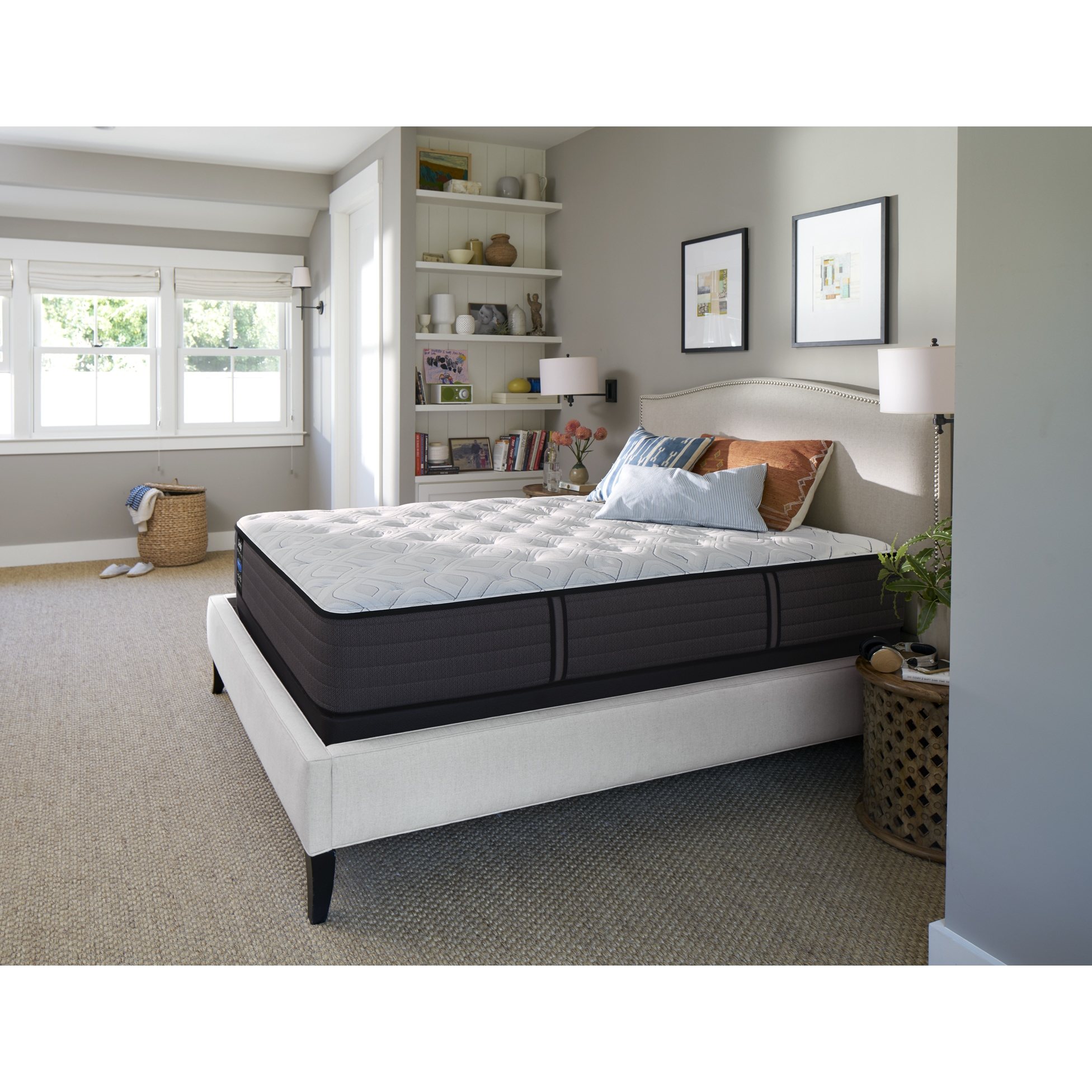 sealy response performance 12 5 inch cushion firm full size mattress
