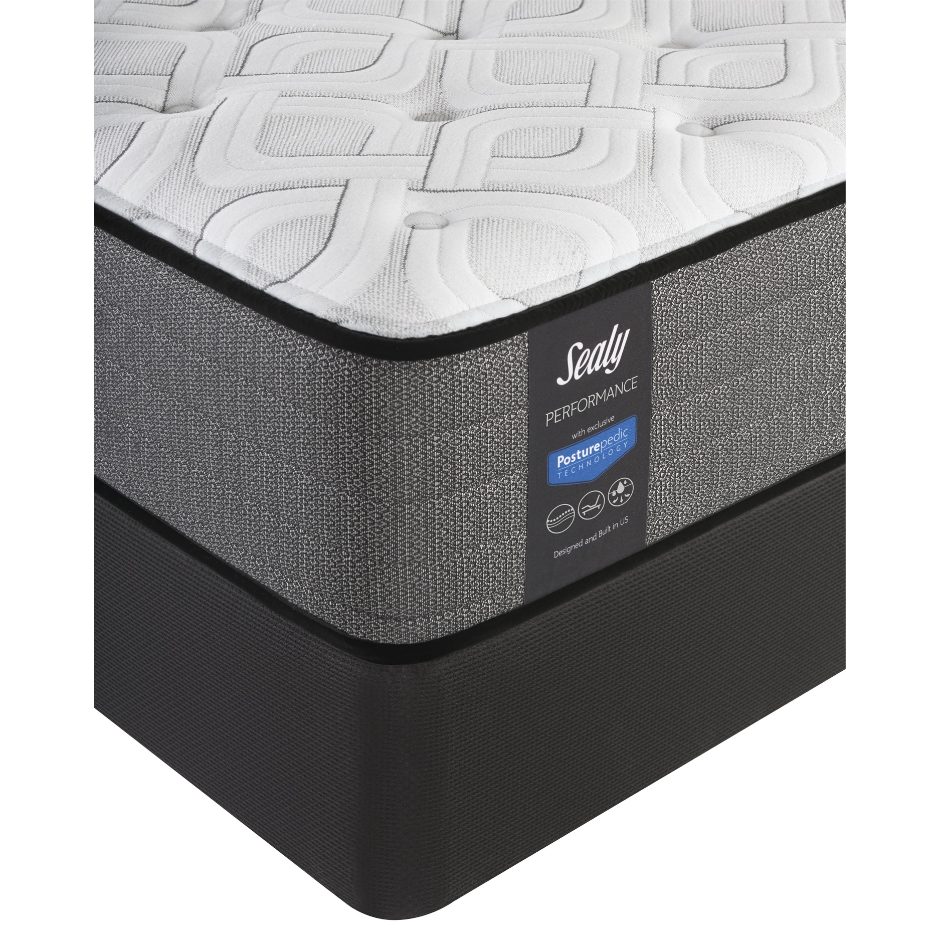 sealy response performance 12 5 inch cushion firm full size mattress set