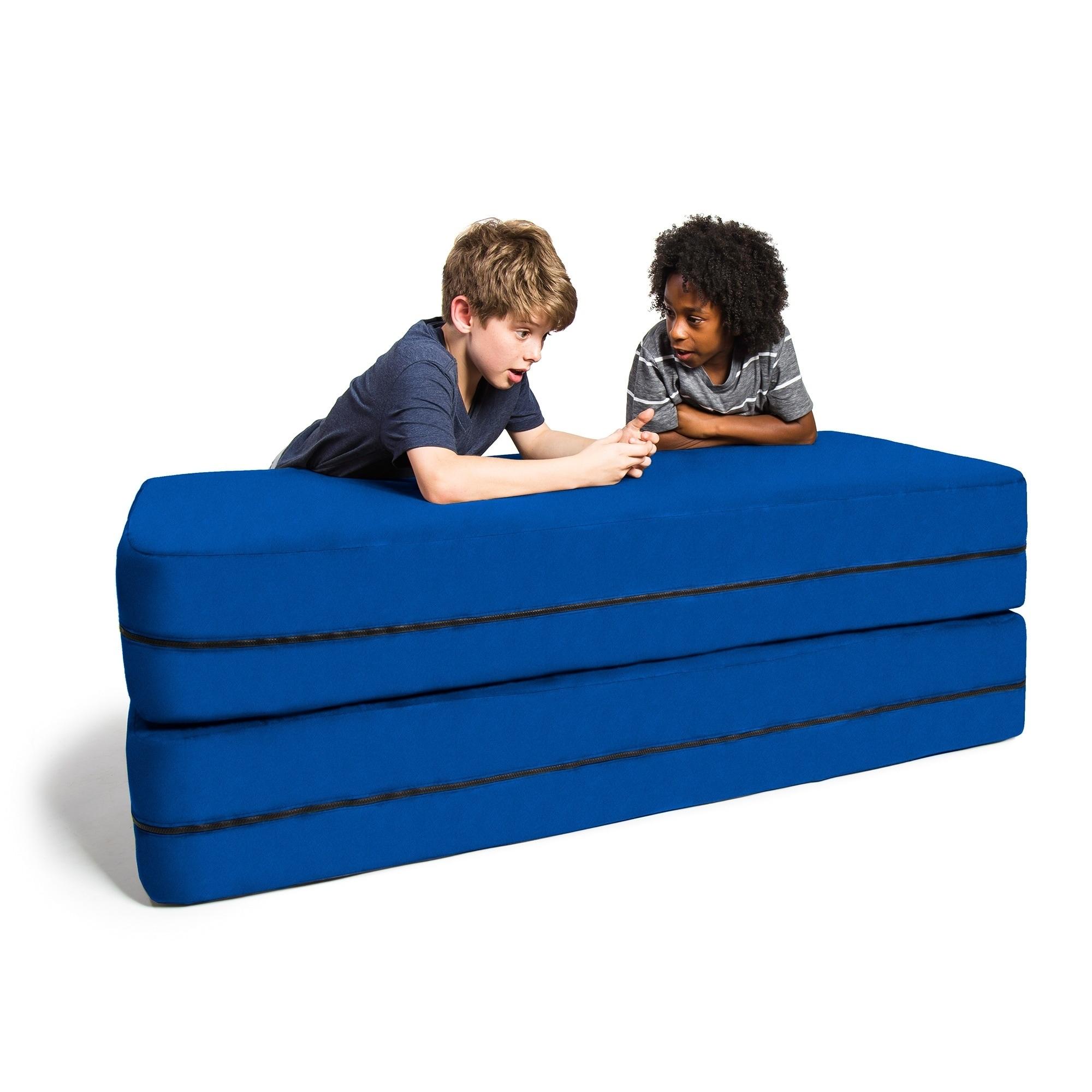 Ja Kids Convertible Sleeper Sofa Ottoman Set Free Shipping Today 16604749