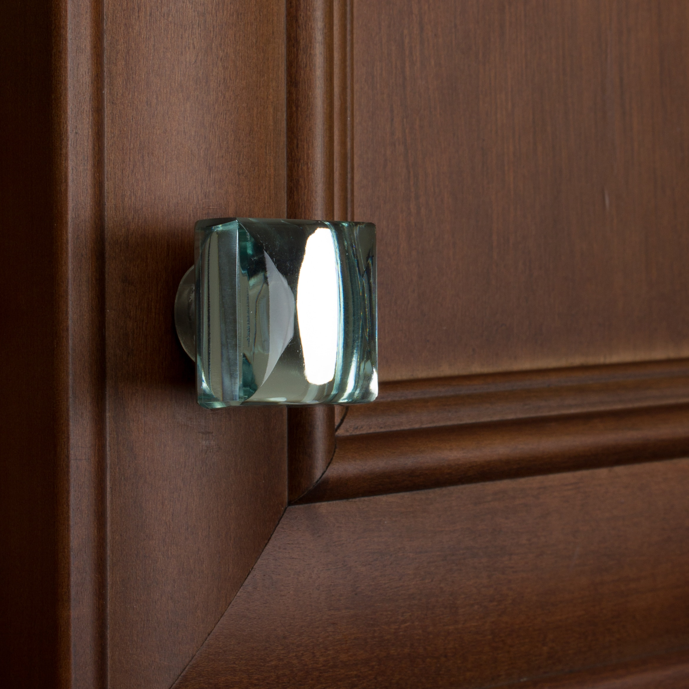 Shop GlideRite 1.188 Inch Modern Square Mirror Glass Cabinet Knobs (Pack Of  10 Or 25)   Free Shipping On Orders Over $45   Overstock.com   16636666