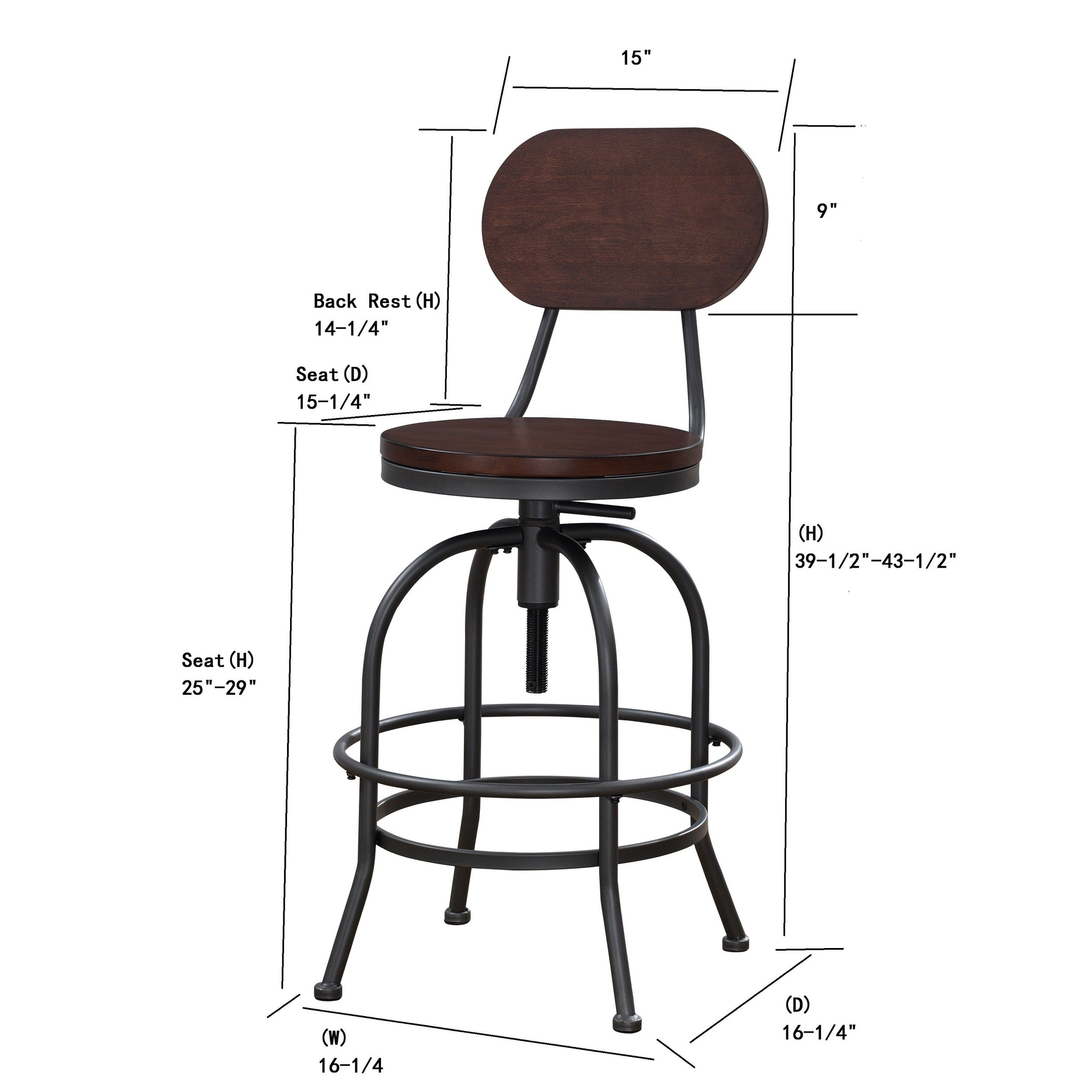 Hudson Adjustable Height Stool By Greyson Living   Free Shipping Today    Overstock   22965351