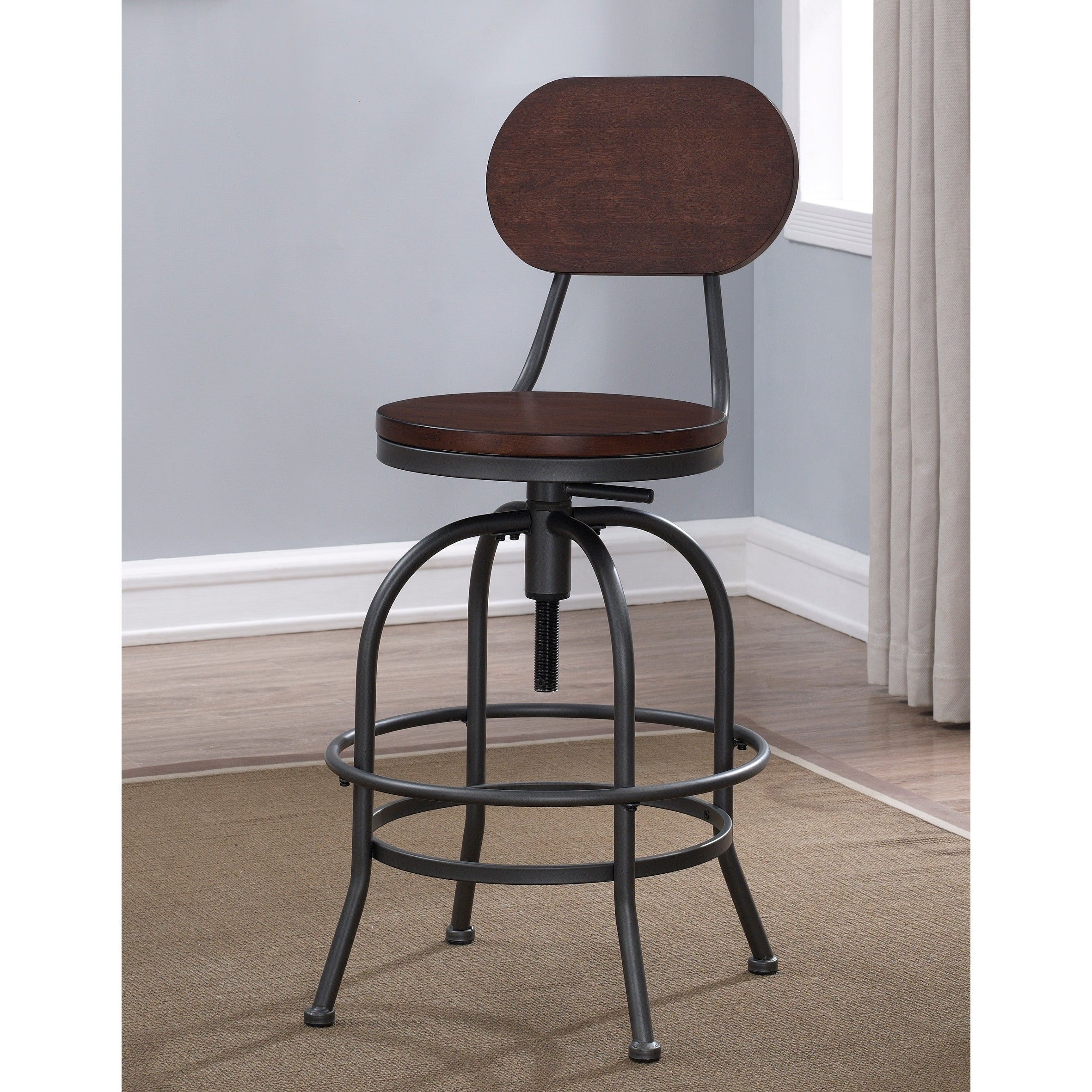 Shop Hudson Adjustable Height Stool By Greyson Living   Free Shipping Today    Overstock.com   16642096