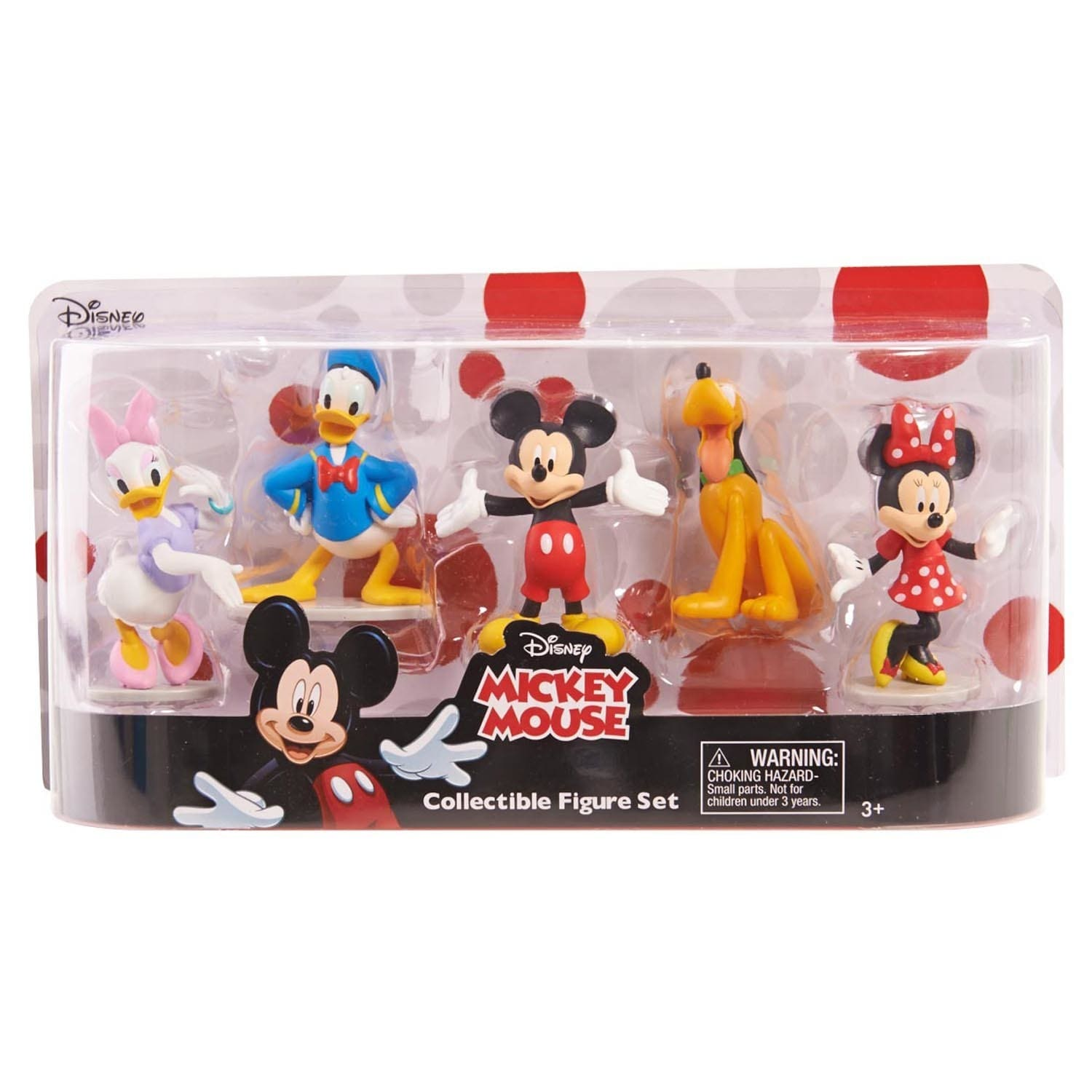 a58b09ee82 Shop Disney Classics Mickey Mouse Clubhouse Deluxe Figure Set - Free  Shipping On Orders Over  45 - Overstock - 16644986