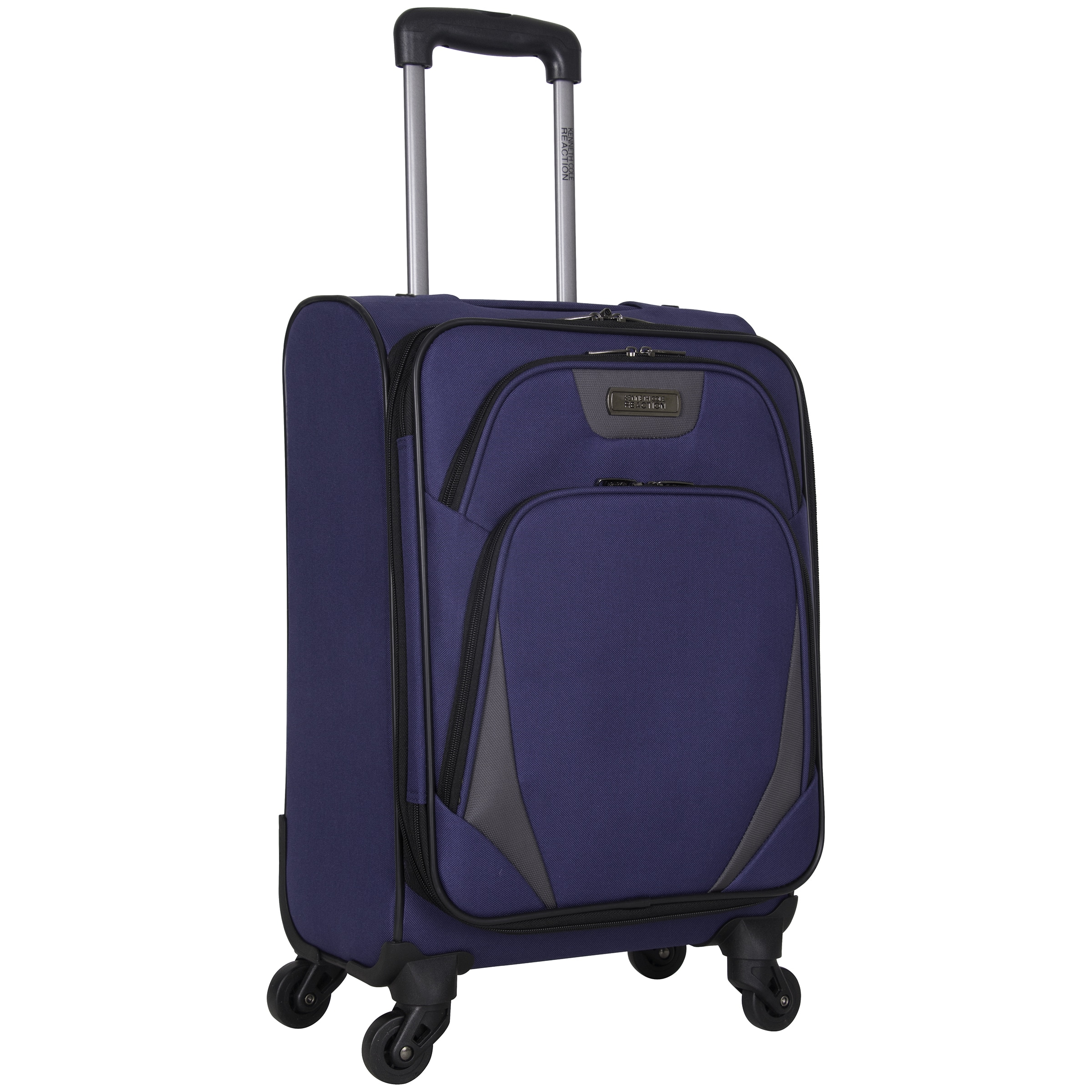 f126fe67d Shop Kenneth Cole Reaction 'Going Places' 20-inch Lightweight 4-wheel  Spinner Carry-on Suitcase - Free Shipping Today - Overstock - 16654235
