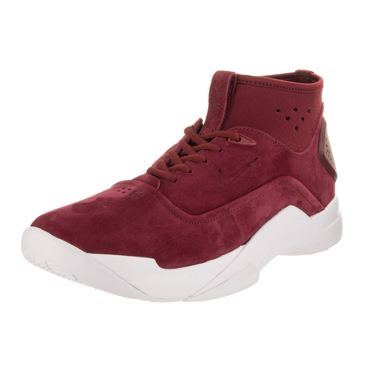 Nike Men's Hyperdunk Red Suede Basketball Shoe