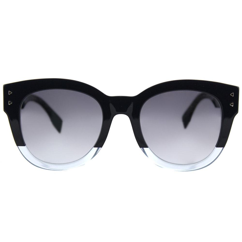 aedaf2d8791e Shop Fendi FF 0239 PJP Color Block Blue Crystal Light Blue Plastic Round Sunglasses  Blue Gradient Lens - Free Shipping Today - Overstock - 16677644