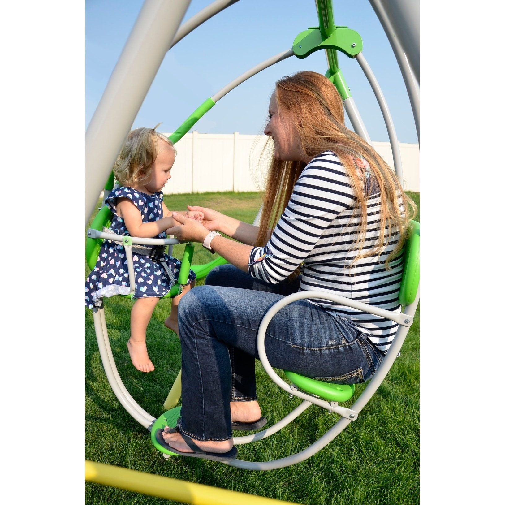Shop Sportspower Spring Breeze Me And My Toddler Swing Set Free