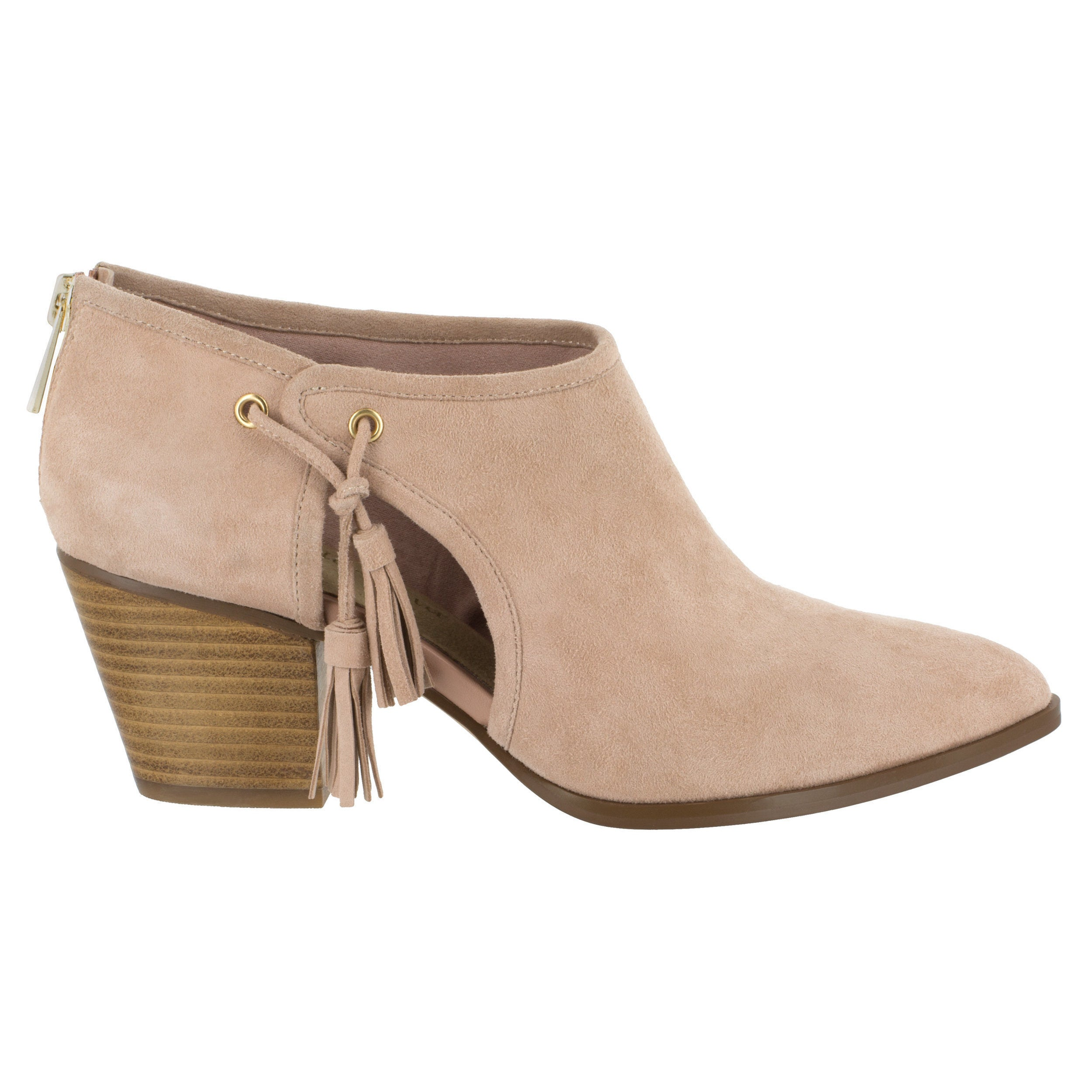 9672ca852f49 Shop Bella Vita Women s Eli Pink Suede Booties - Free Shipping Today -  Overstock - 16684534