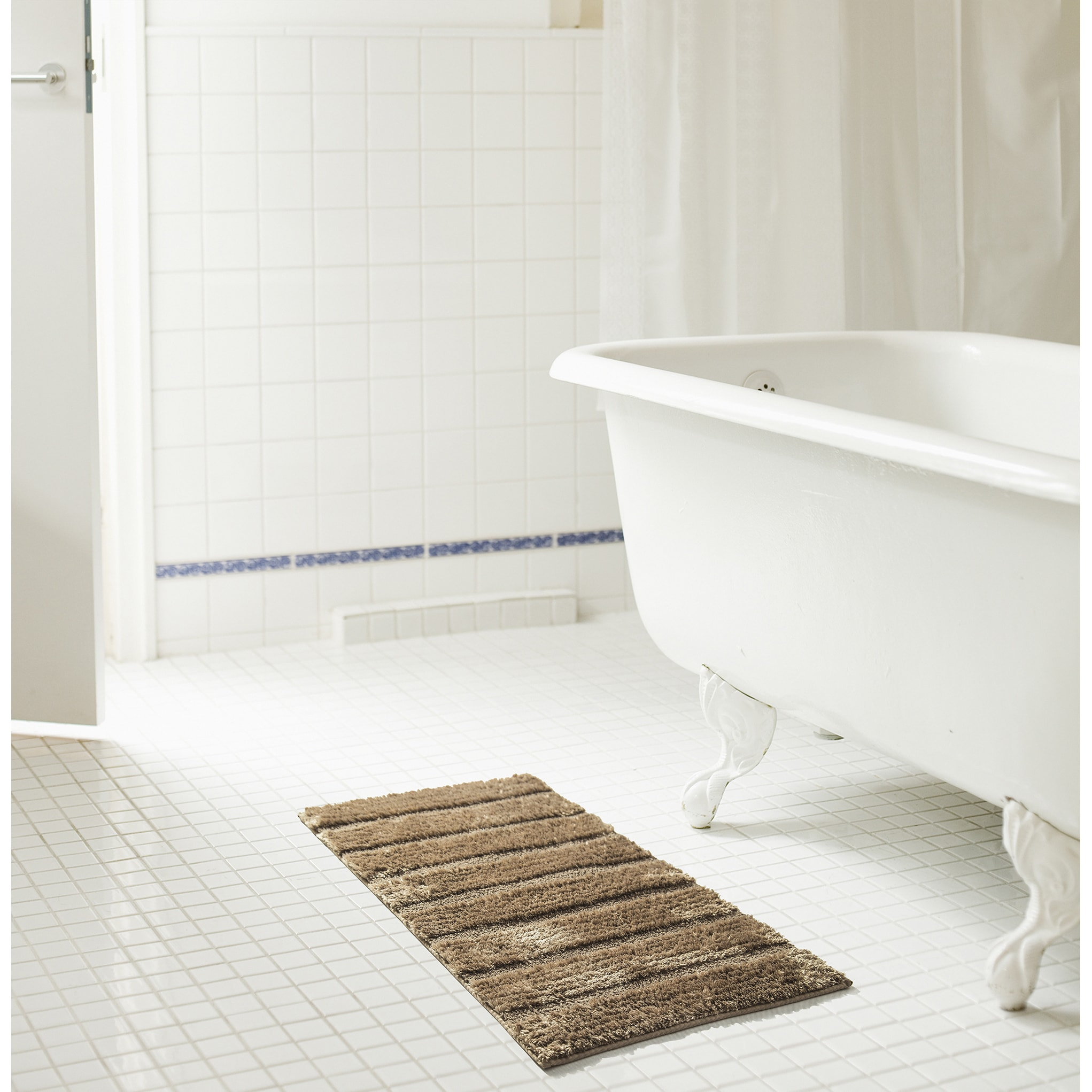 Shop RT Designers Collection Bello Microfiber Bath Rug - Free ...