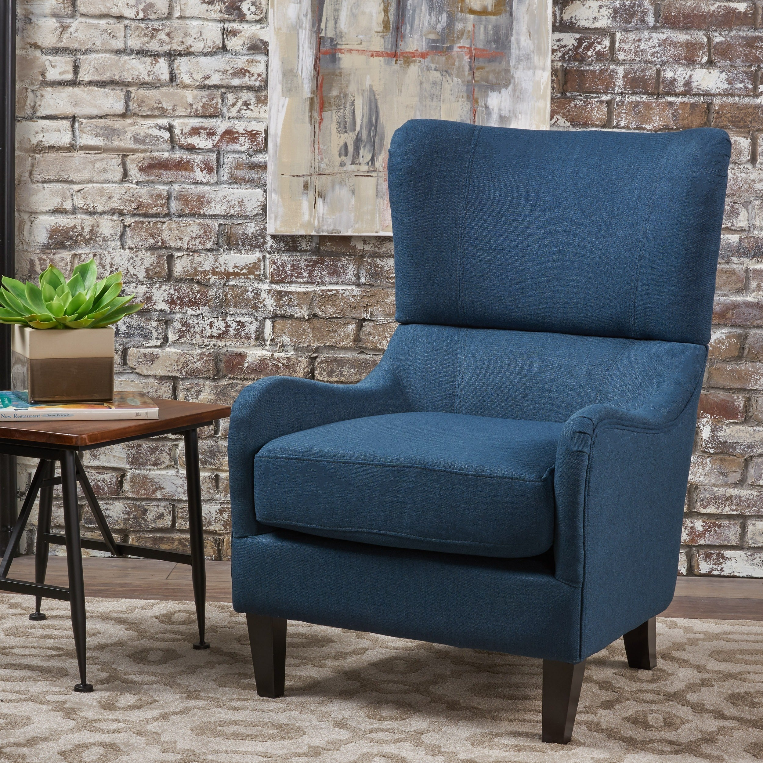 Superbe Shop Quentin High Back Club Chair By Christopher Knight Home   On Sale    Free Shipping Today   Overstock.com   16718612