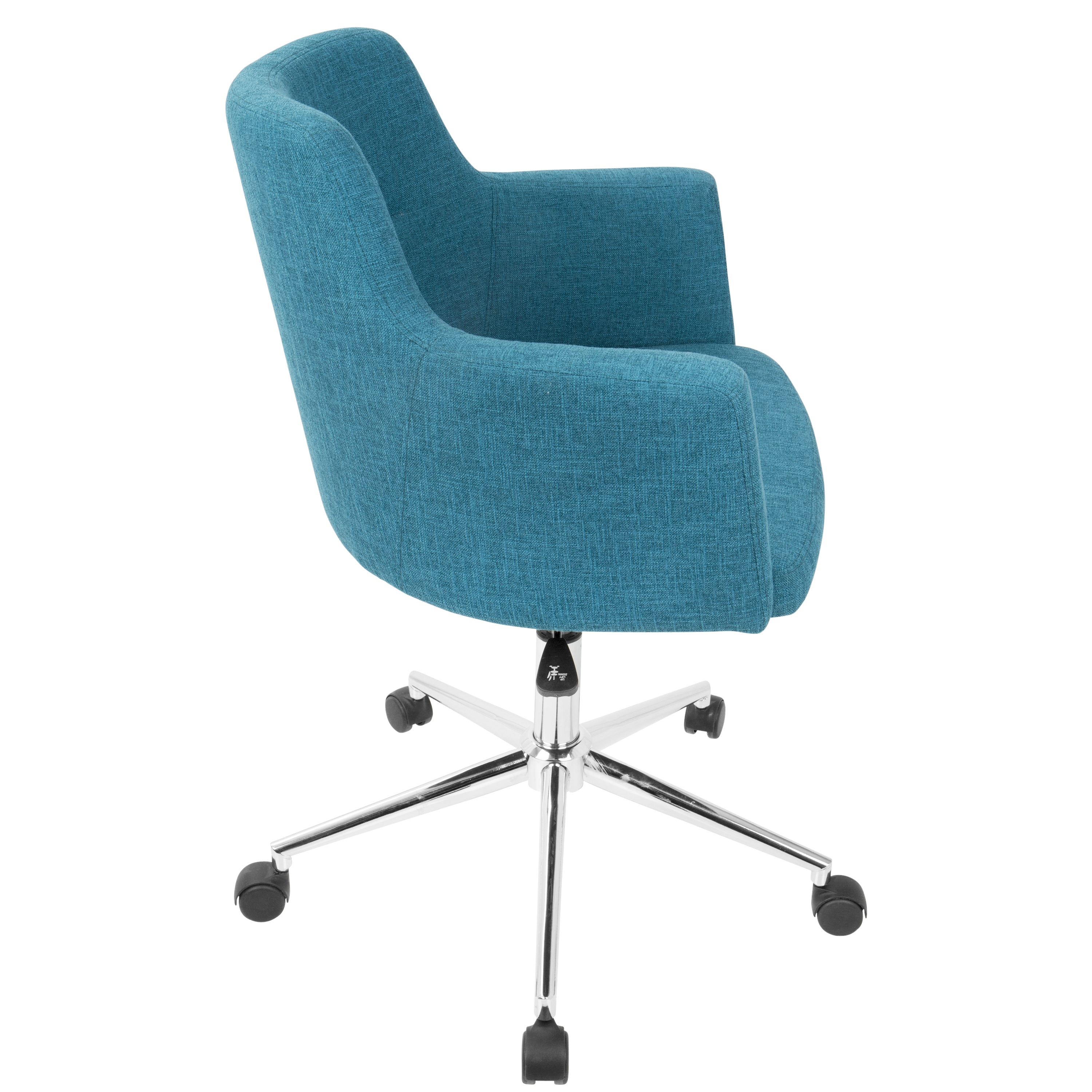 Andrew Contemporary Office Chair In Fabric On Free Shipping Today 16722566