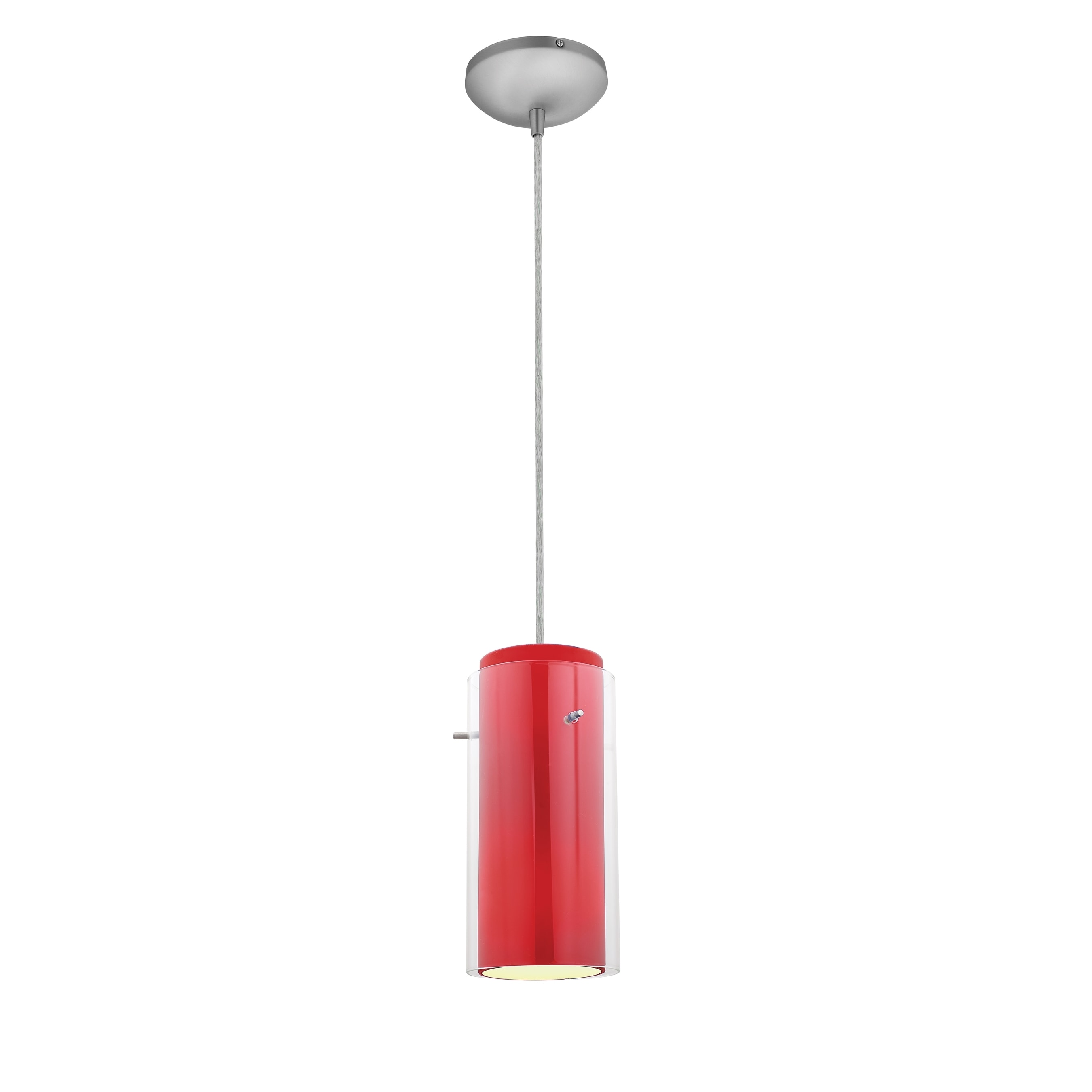 pendant pin townhouse diffused brass cylinder light and band
