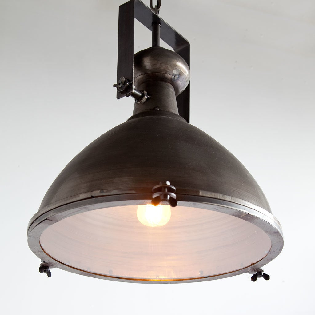 metal pendant lighting fixtures. Mercana Bashaw I Grey Metal Pendant Light - Free Shipping Today Overstock 23045540 Lighting Fixtures