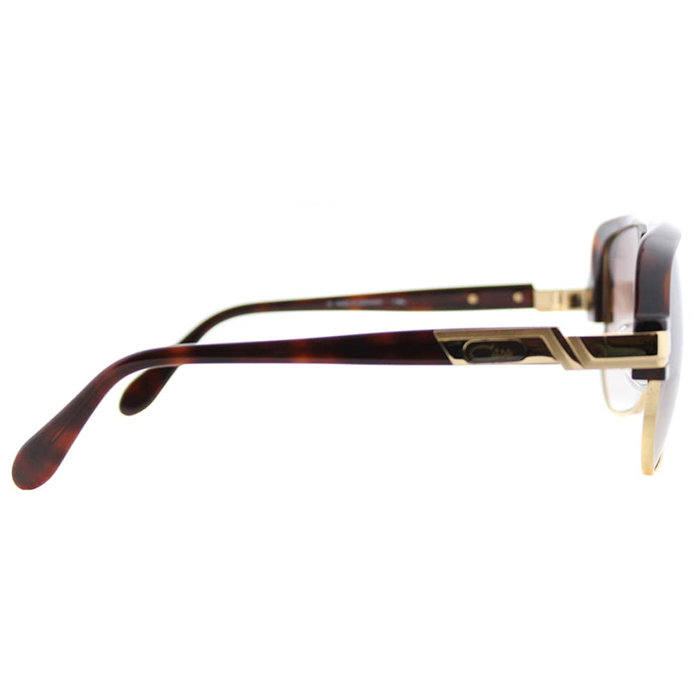 811aff57335 Shop Cazal Unisex Square Cazal 672 080SG Amber Goldtone Framed Sunglasses  with Brown Gradient Lens - Free Shipping Today - Overstock - 16733990