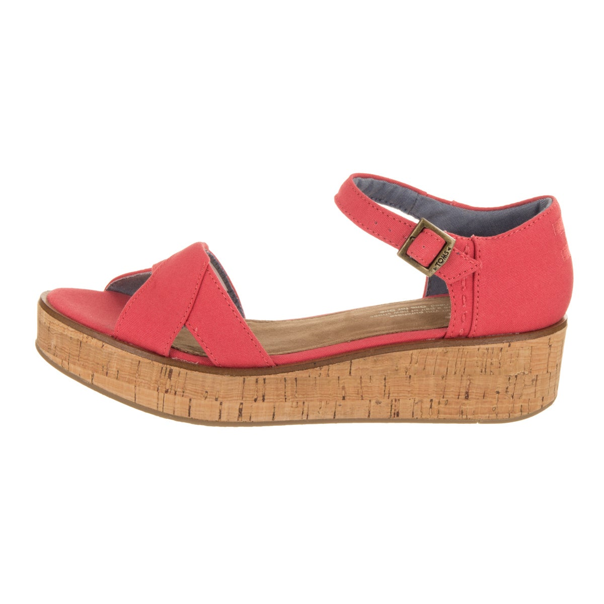 d779ca3d91f Shop Toms Women s Harper Wedge Sandal - Free Shipping Today - Overstock -  16739541