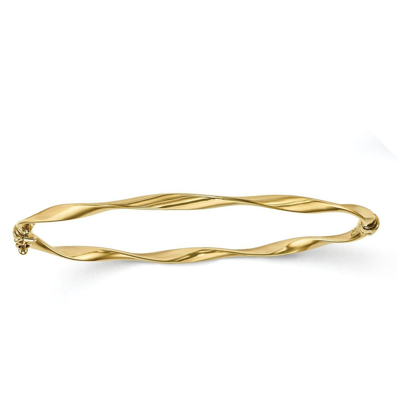 overstock tricolor shipping product karat inch gold bracelets jewelry today strand bangles bracelet braided herringbone watches bangle fremada free