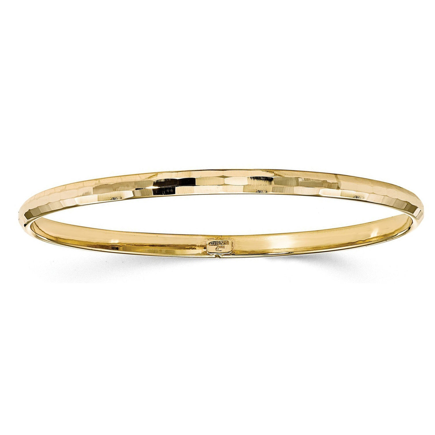shipping gold watches product jewelry com overstock bracelets polished karat bangle bangles free today