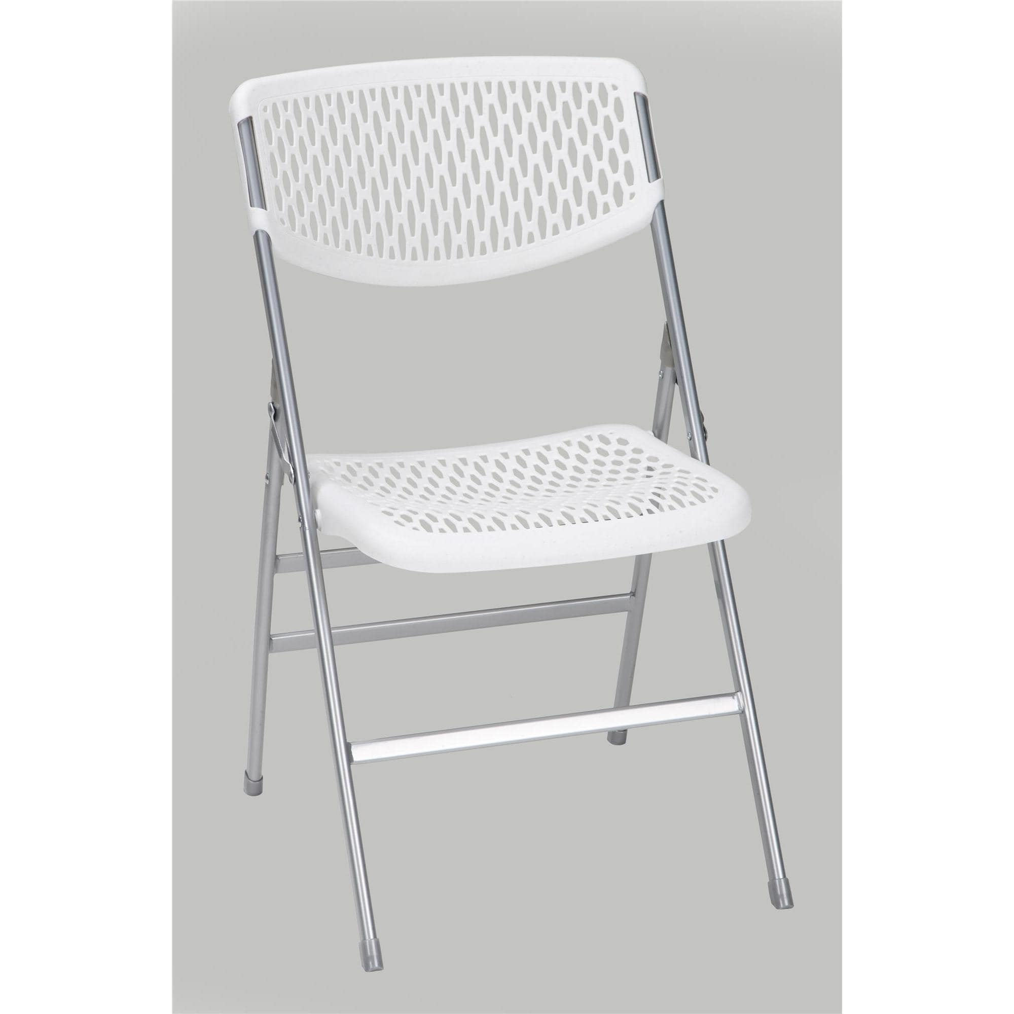 Great Shop COSCO Commercial Resin Mesh Folding Chair (Set Of 4)   Free Shipping  Today   Overstock.com   16740429