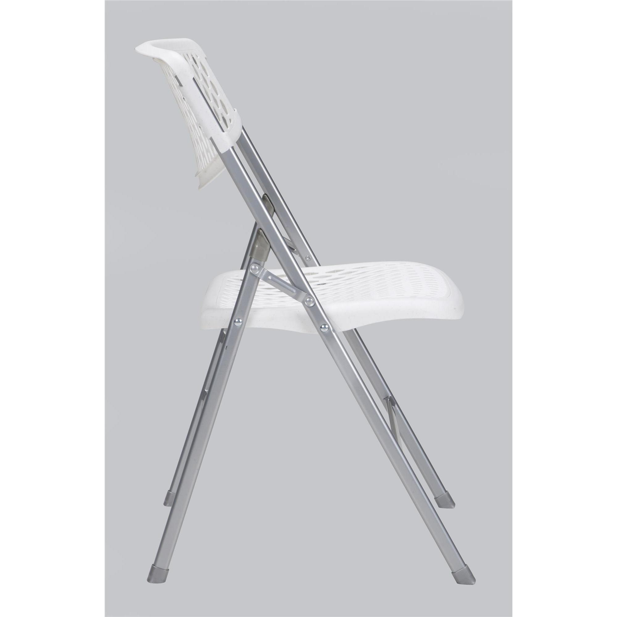 Shop COSCO Commercial Resin Mesh Folding Chair (Set Of 4)   On Sale   Free  Shipping Today   Overstock.com   16740429