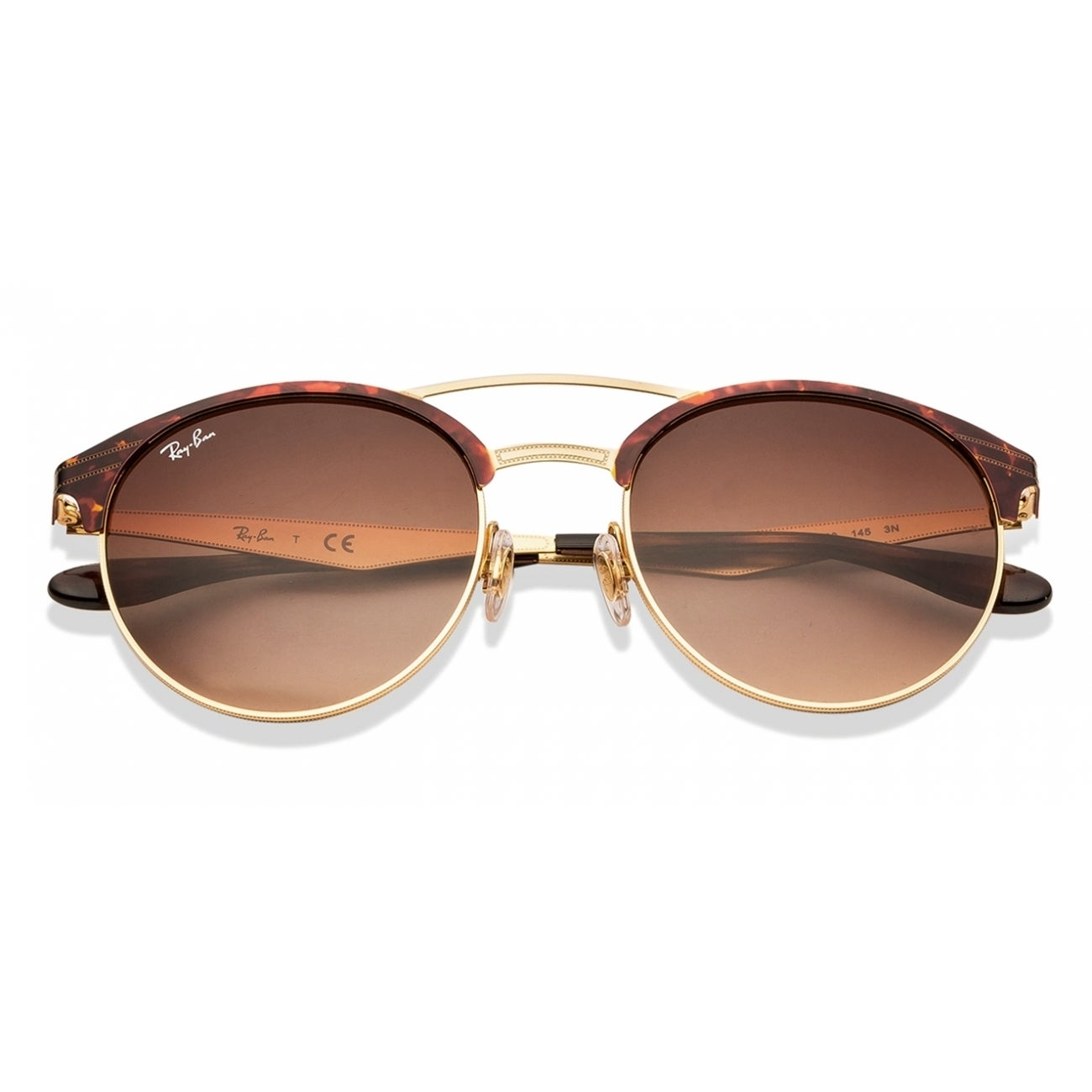 fb8d93924a2 Shop Ray-Ban Unisex RB3545 900813 Tortoise Gold Frame Brown Gradient 54 mm  Lens Sunglasses - Free Shipping Today - Overstock.com - 16740866