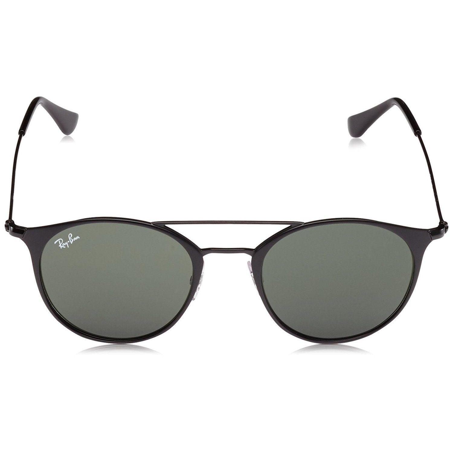 f9f4774653fa6 Shop Ray-Ban Unisex RB3546 186 Black Frame Green Classic G-15 52 mm Lens  Sunglasses - Free Shipping Today - Overstock - 16740876