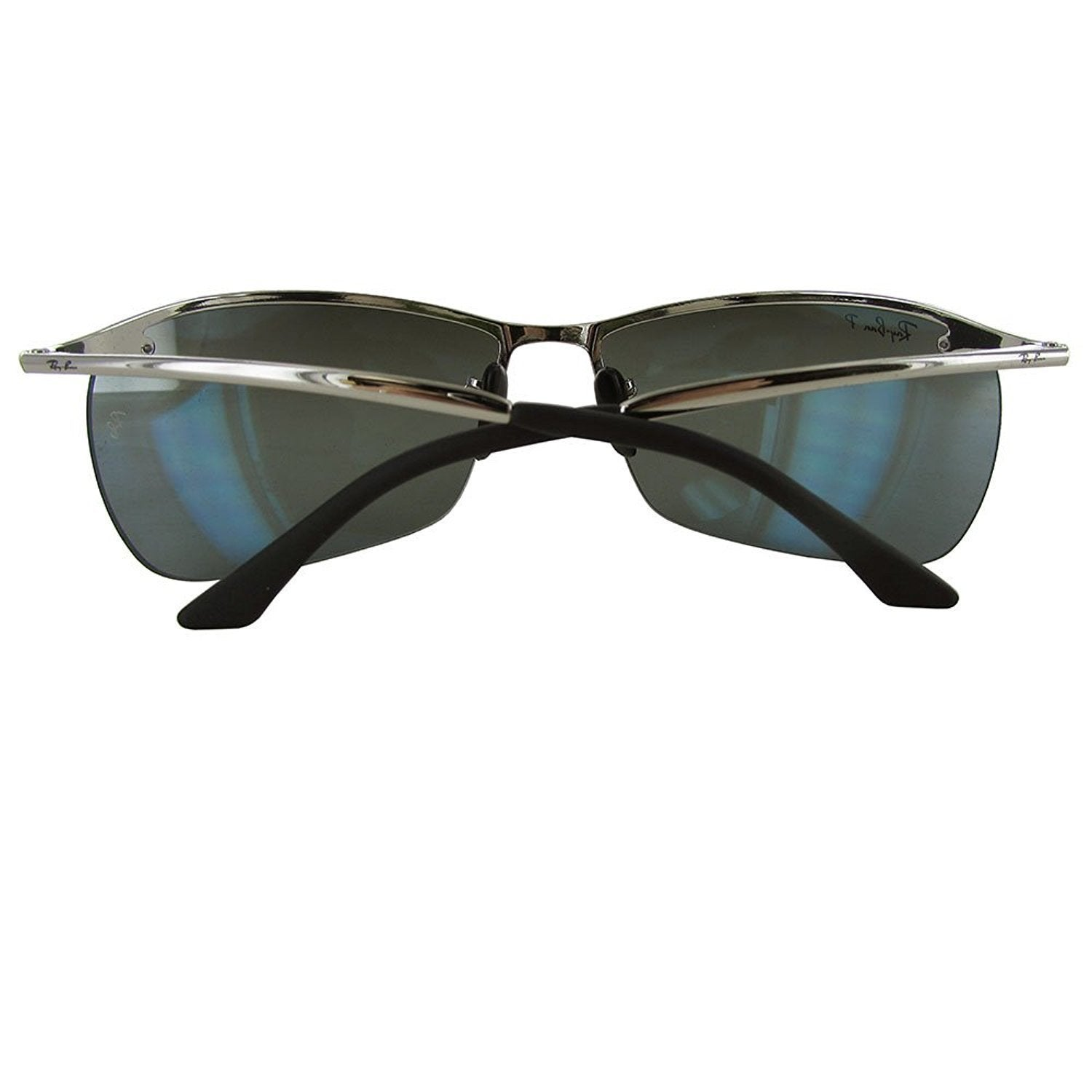 eec3dfc8b01 Shop Ray-Ban Unisex RB3544 003 5L Silver Frame Polarized Grey Mirror  Chromance 64 mm Lens Sunglasses - Free Shipping Today - Overstock - 16740884