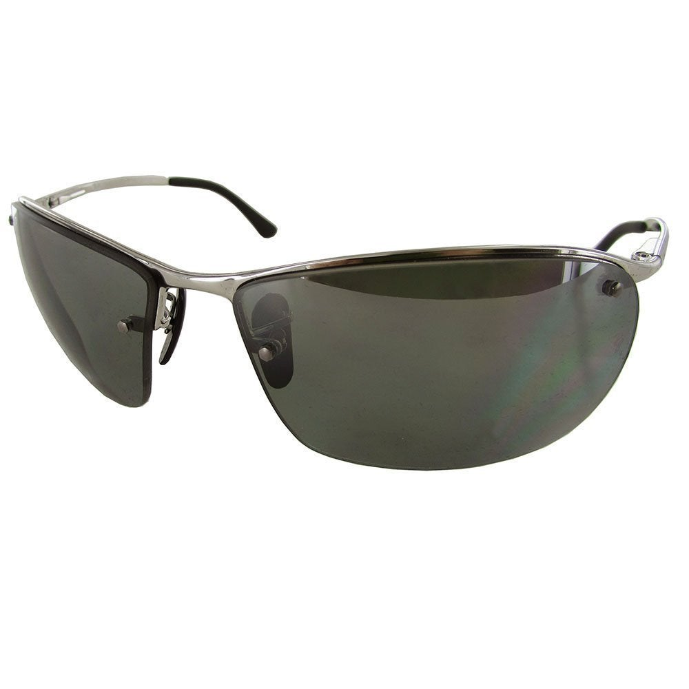 c51a591f134f9 Shop Ray-Ban Unisex RB3544 003 5L Silver Frame Polarized Grey Mirror  Chromance 64 mm Lens Sunglasses - Ships To Canada - Overstock - 16740884
