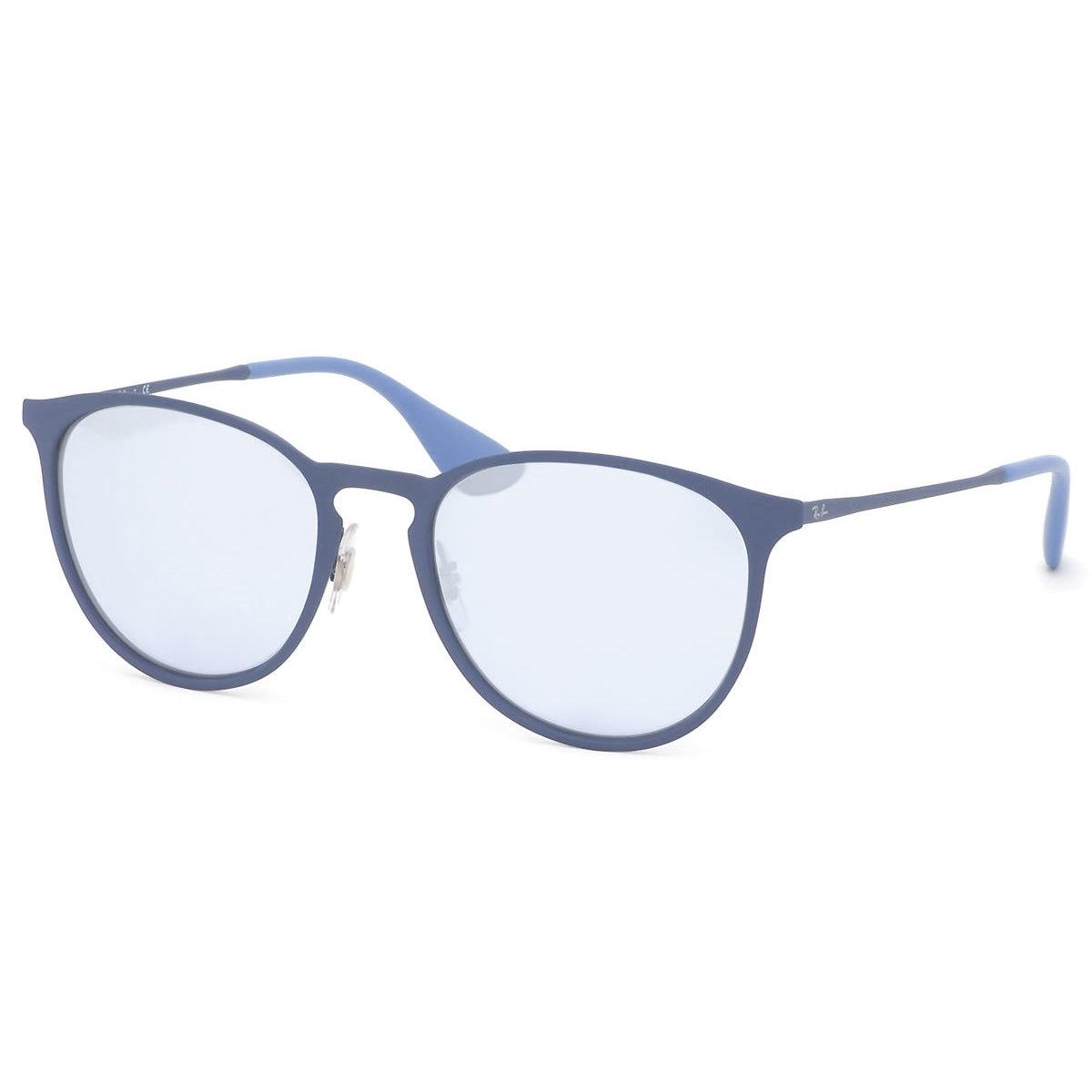 300a35bd53 Ray-Ban Men s RB3539 90221U Erika Blue Frame Grey Mirror 54mm Lens  Sunglasses