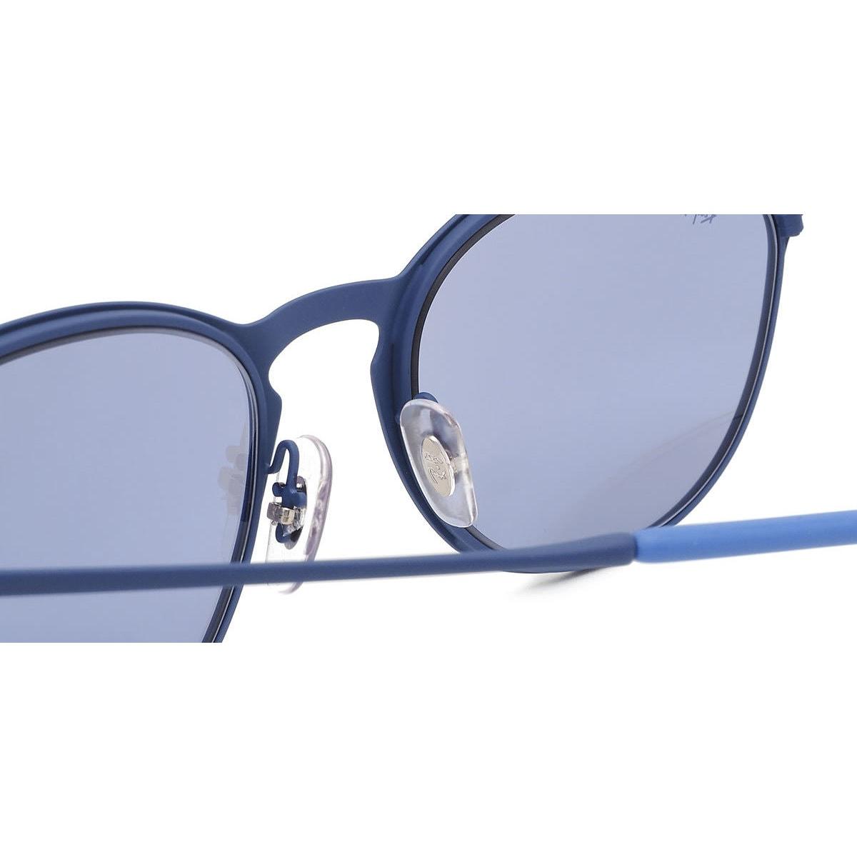 0ad6872e1279a Shop Ray-Ban Men s RB3539 90221U Erika Blue Frame Grey Mirror 54mm Lens  Sunglasses - Free Shipping Today - Overstock.com - 16740887