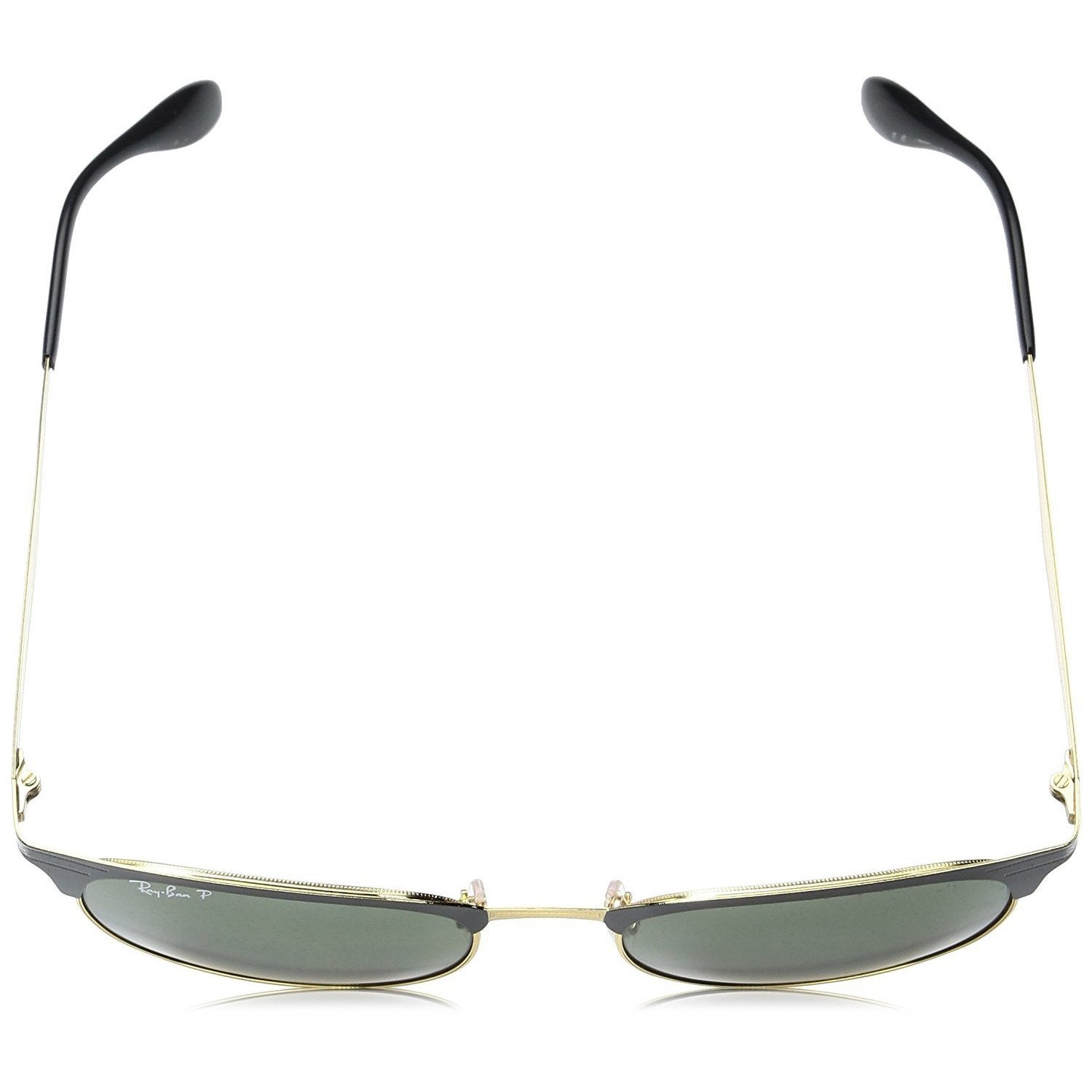 c900b45516 Shop Ray-Ban Men s RB3538 187 9A Black Frame Polarized Green Classic 53 mm  Lens Sunglasses - Free Shipping Today - Overstock - 16740893