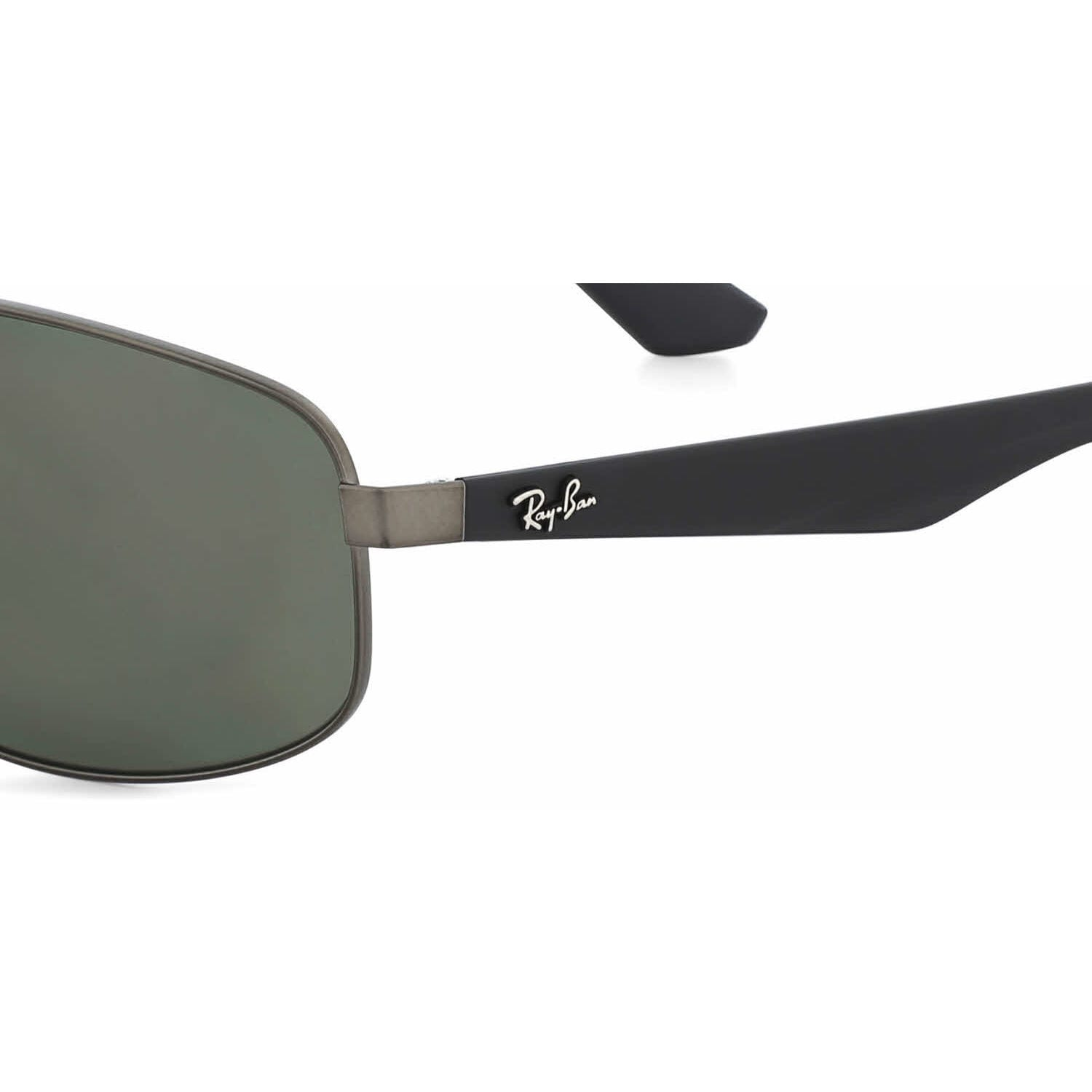 5270b9adb08 Shop Ray-Ban Men s RB3527 006 71 Black Frame Green Classic 61 mm Lens  Sunglasses - Free Shipping Today - Overstock - 16740933