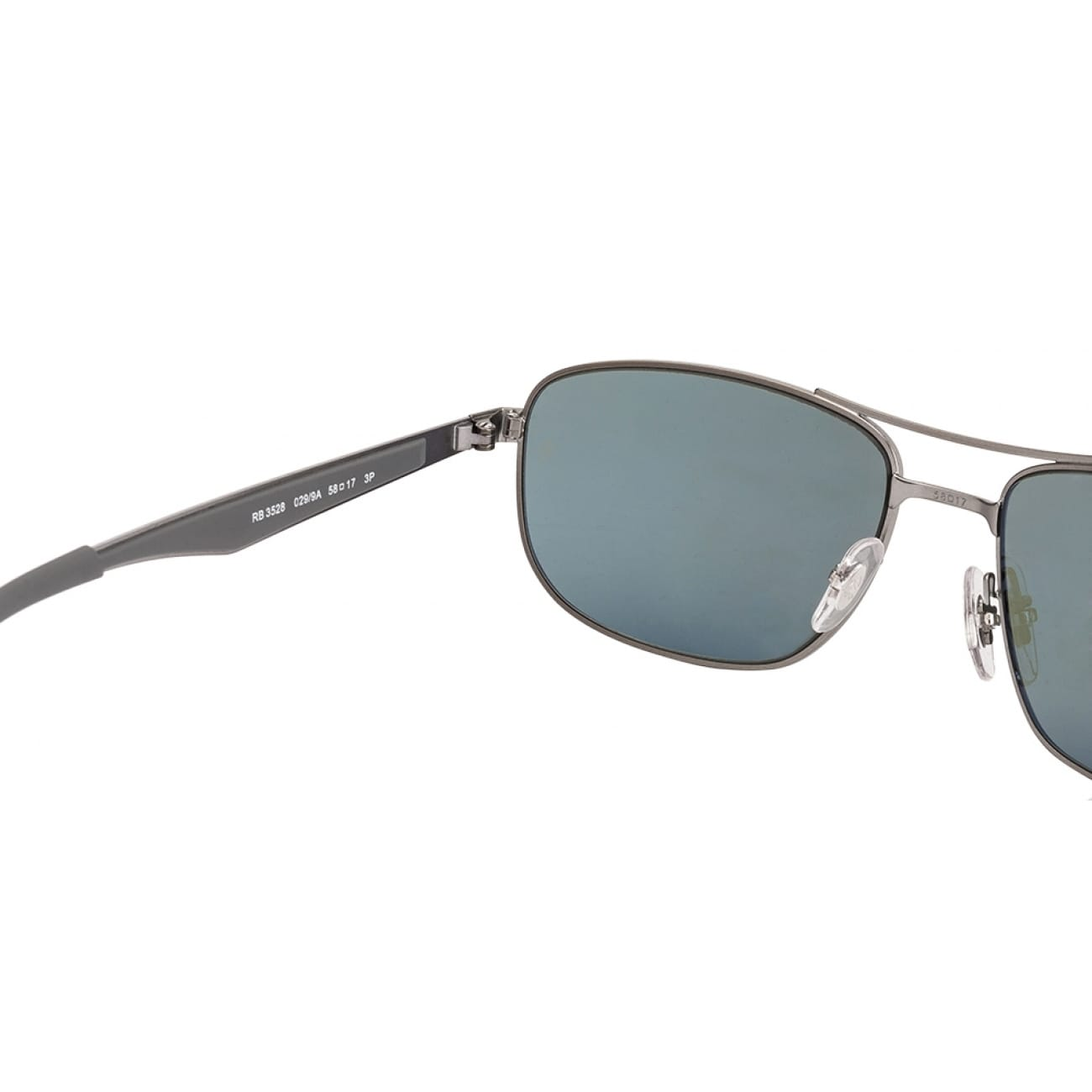 49415f823bd Shop Ray-Ban Men s RB3528 029 9A Gunmetal Frame Polarized Green Classic  G-15 58 mm Lens Sunglasses - Free Shipping Today - Overstock - 16740938