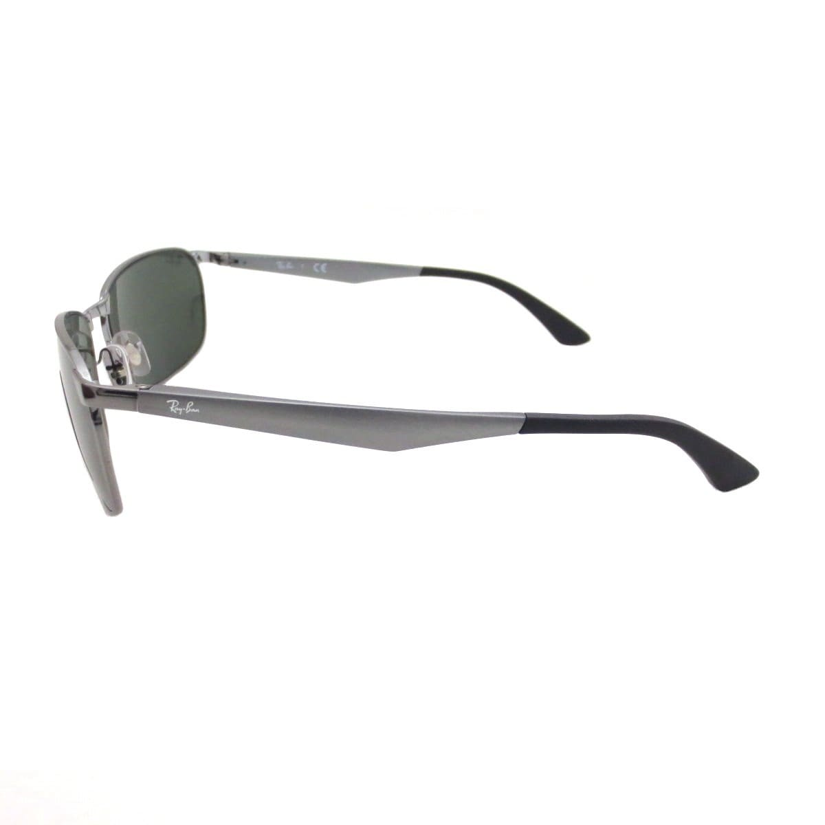 4e424c04d11 Shop Ray-Ban Men s RB3534 004 Gunmetal Frame Green Classic 62 mm Lens  Sunglasses - Free Shipping Today - Overstock - 16740943