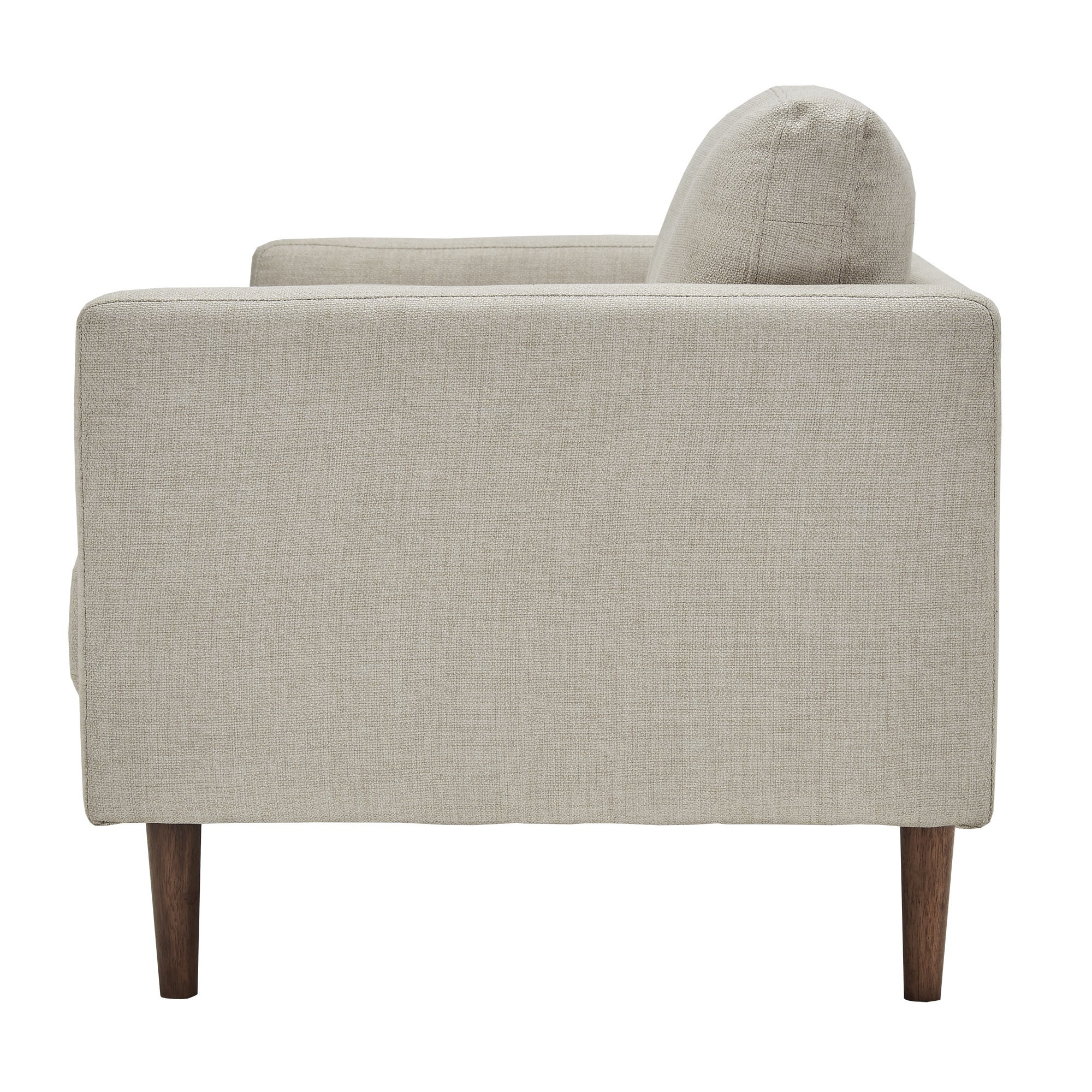 Oana Oatmeal Mid-Century Tapered Leg Seating Collection with Pillows by  iNSPIRE Q Modern - Free Shipping Today - Overstock.com - 23053049