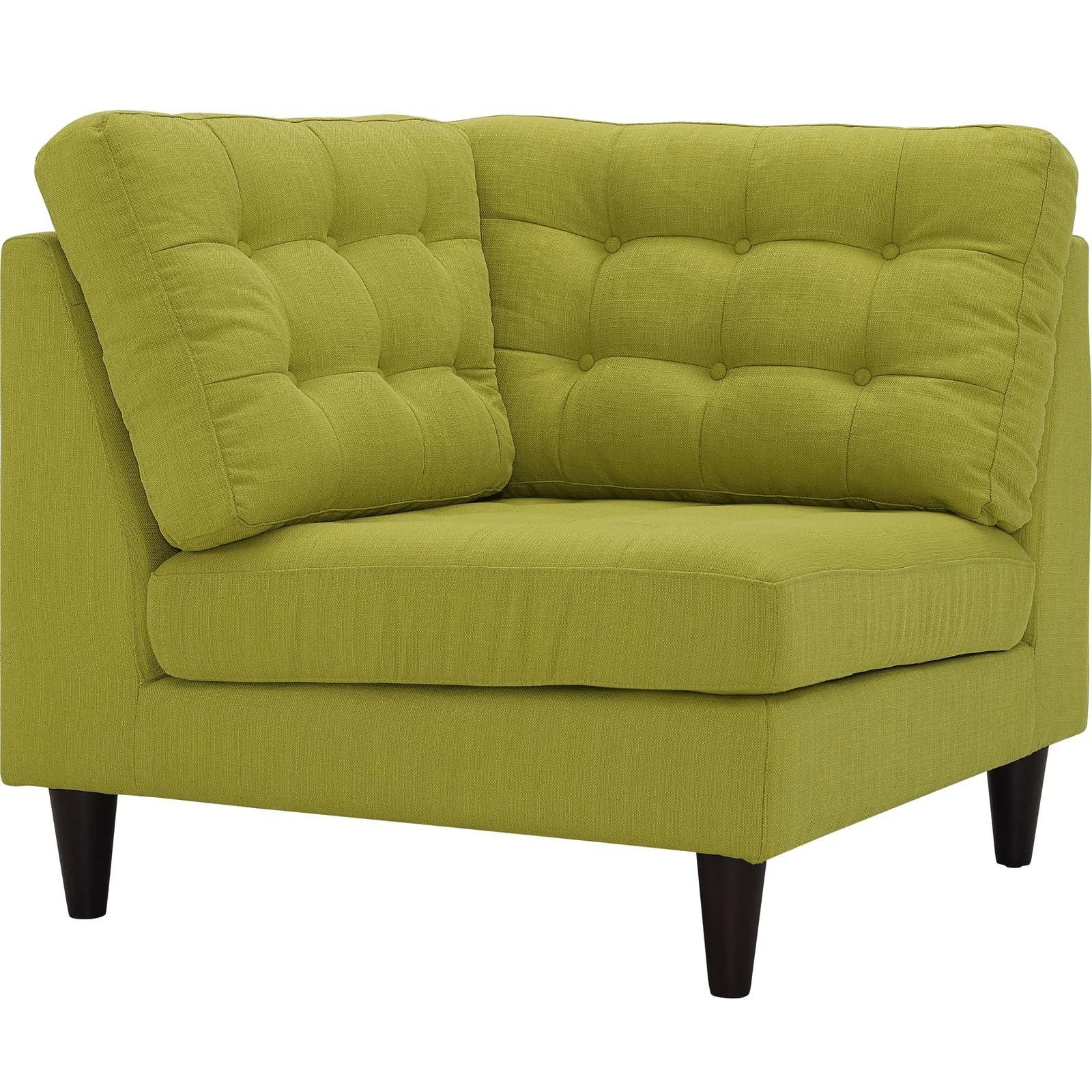 Modway Empress Upholstered Fabric Corner Sofa Free Shipping Today 16741301