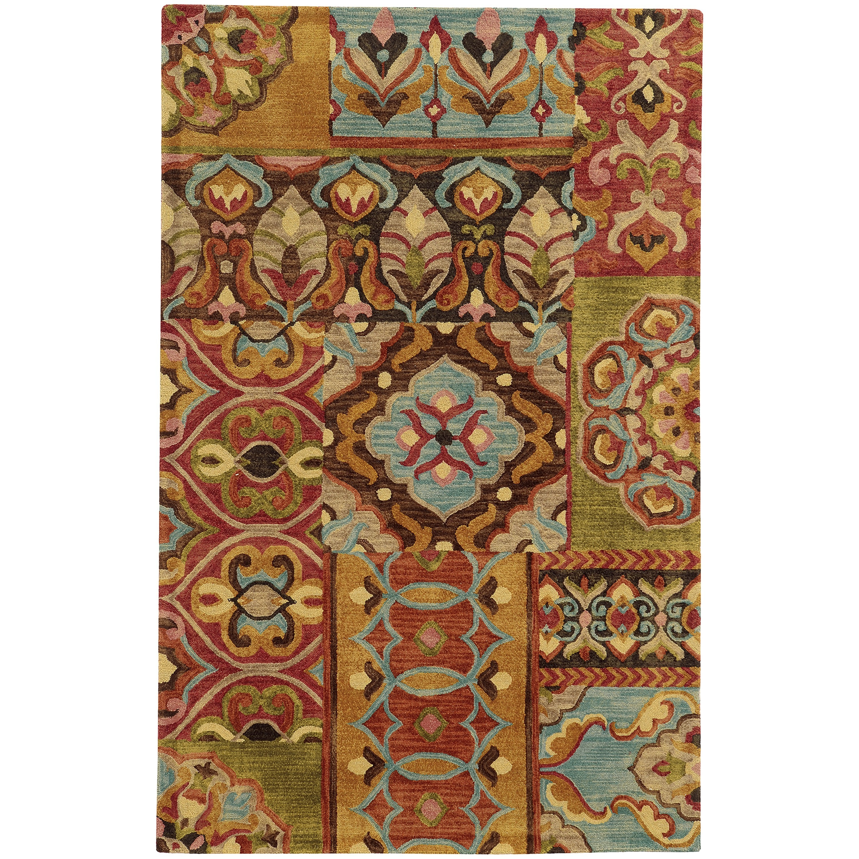 Tommy Bahama Jamison Multicolor Wool Area Rug (8\u0027x10\u0027) - Free ...